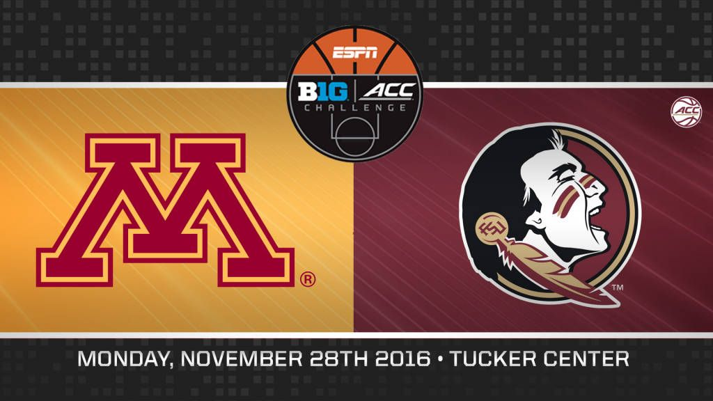 Seminoles Play Host To Minnesota in ACC/Big Ten Challenge