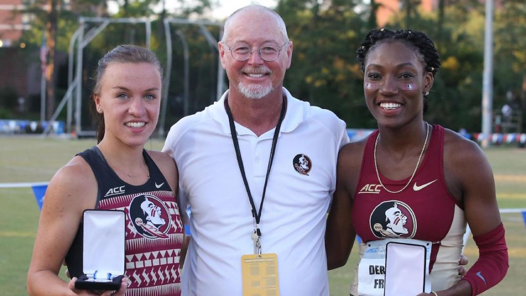 Seminole Women, Brits Rise Up On Special Day At Mike Long Track