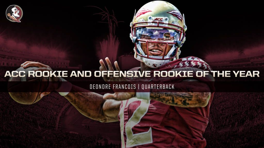 Francois Voted ACC Rookie of the Year
