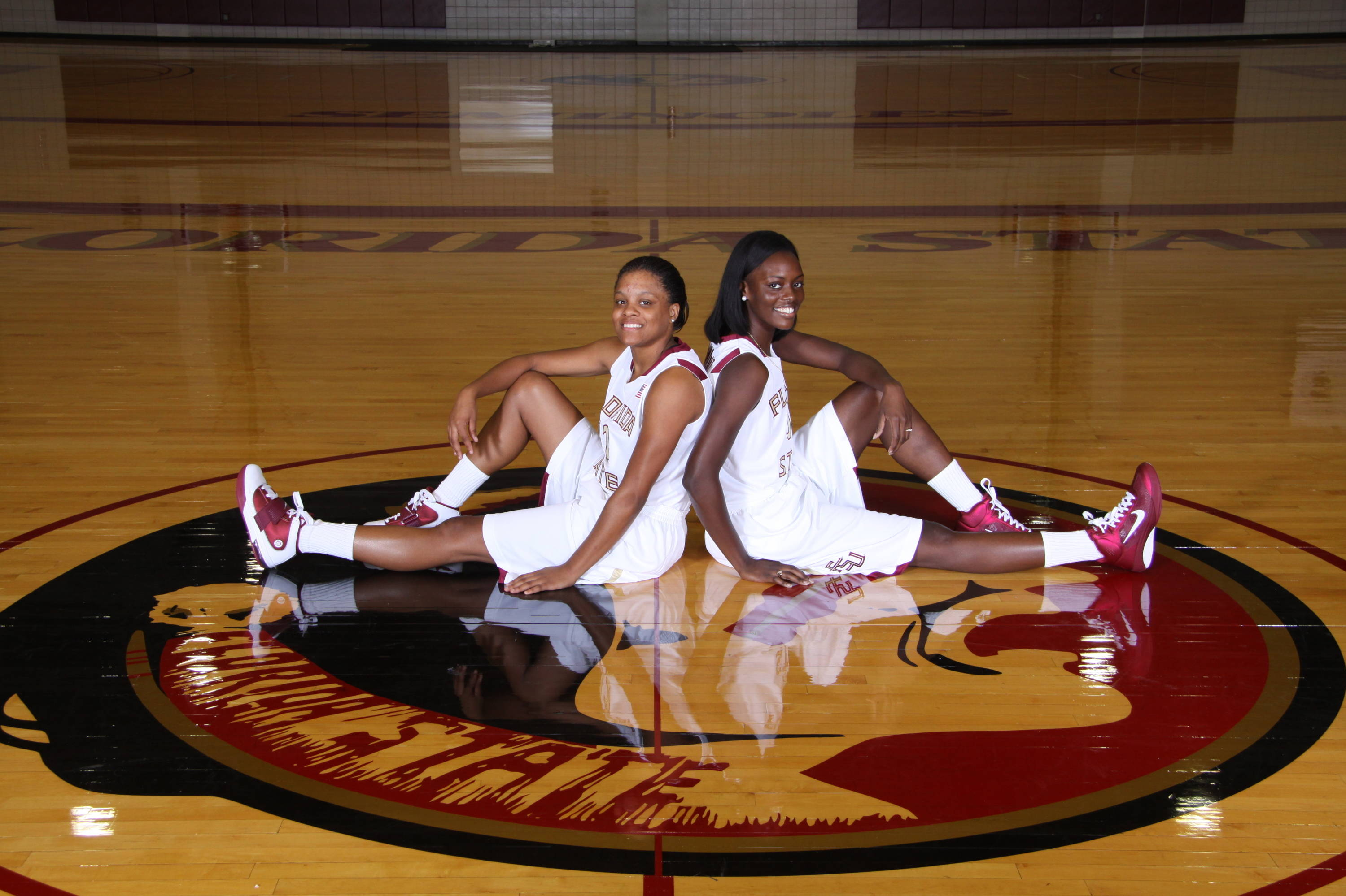 Sept. 27 ... The 2010-11 senior class: Courtney Ward and Christian Hunnicutt.