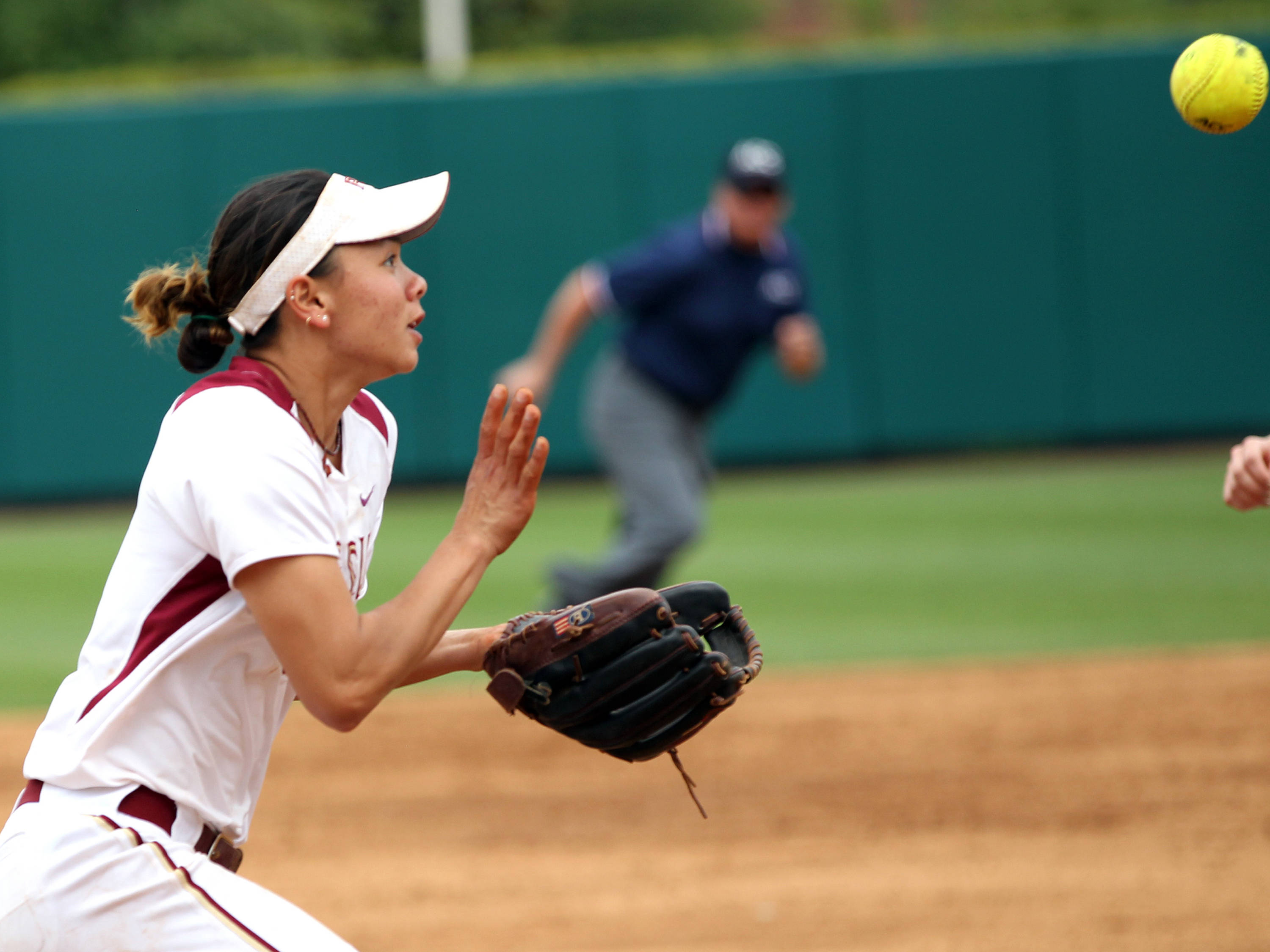 Courtney Senas, FSU VS NC, ACC Championship Semifinals, Tallahassee, FL,  05/10/13 . (Photo by Steve Musco)