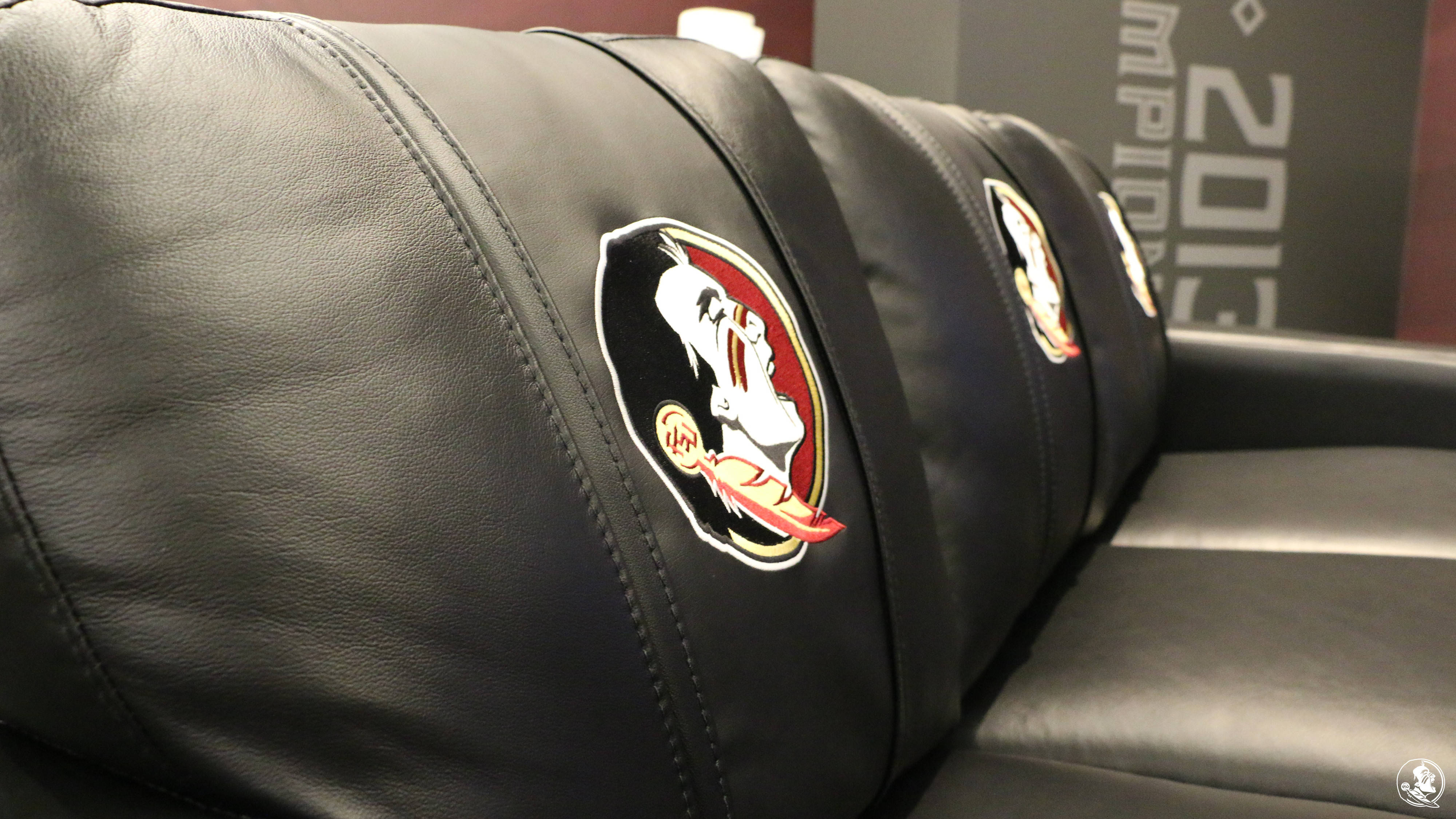 First Look: New Football Players Lounge