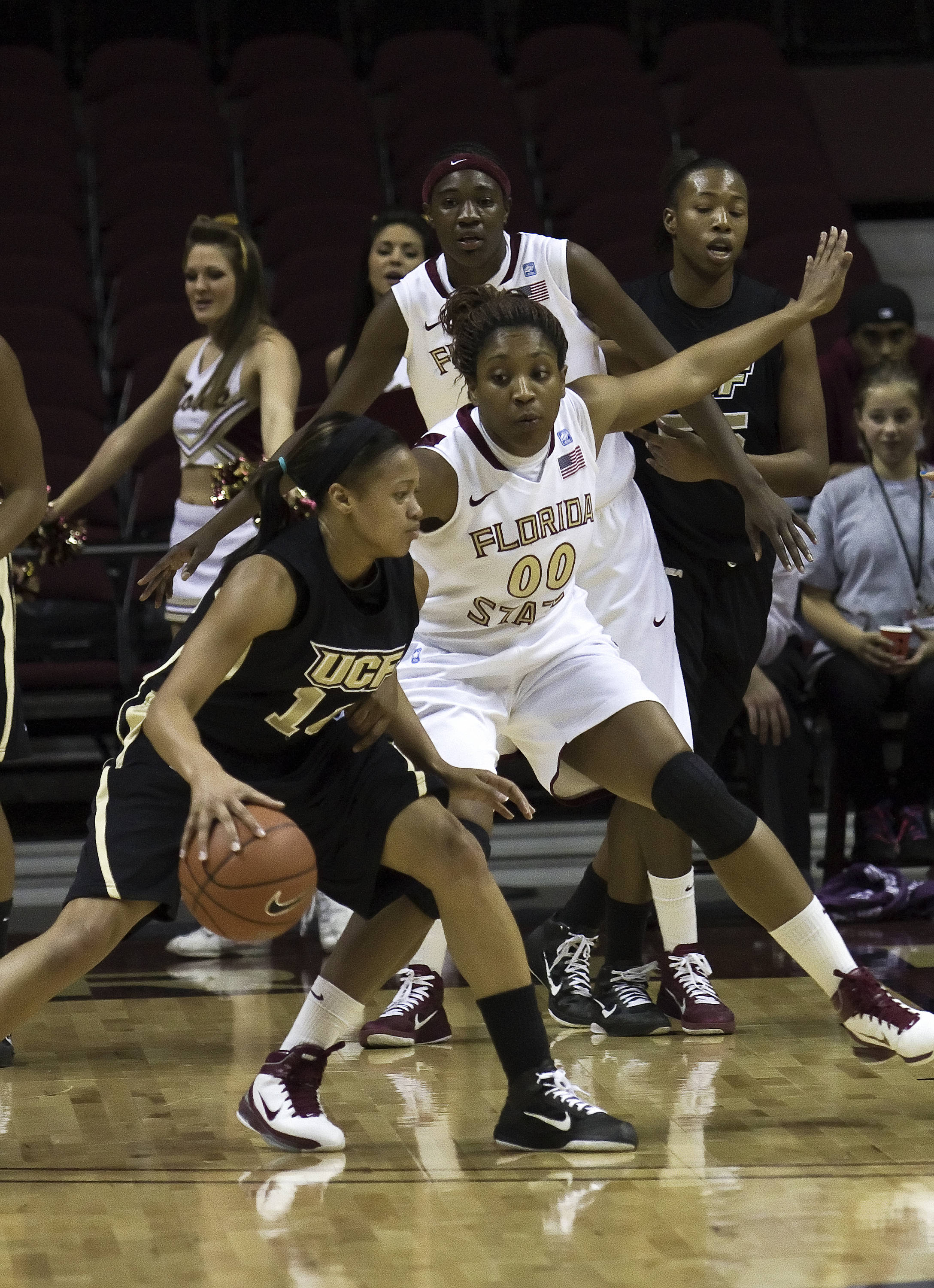 FSU vs UCF - 12/15/10 - Chasity Clayton (00)#$%^Photo by Steve Musco