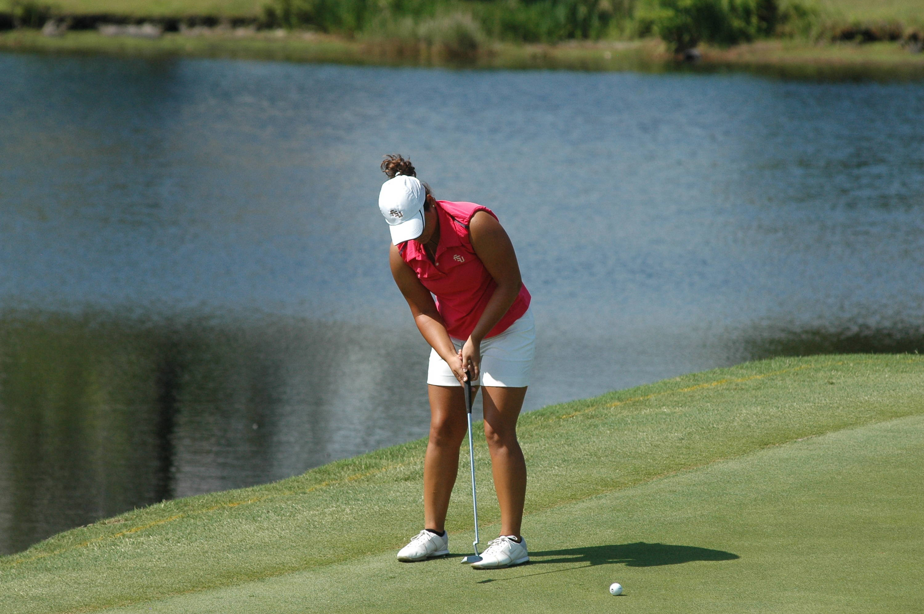 Jessica Negron - NCAA Women's Golf 2010 Day 4