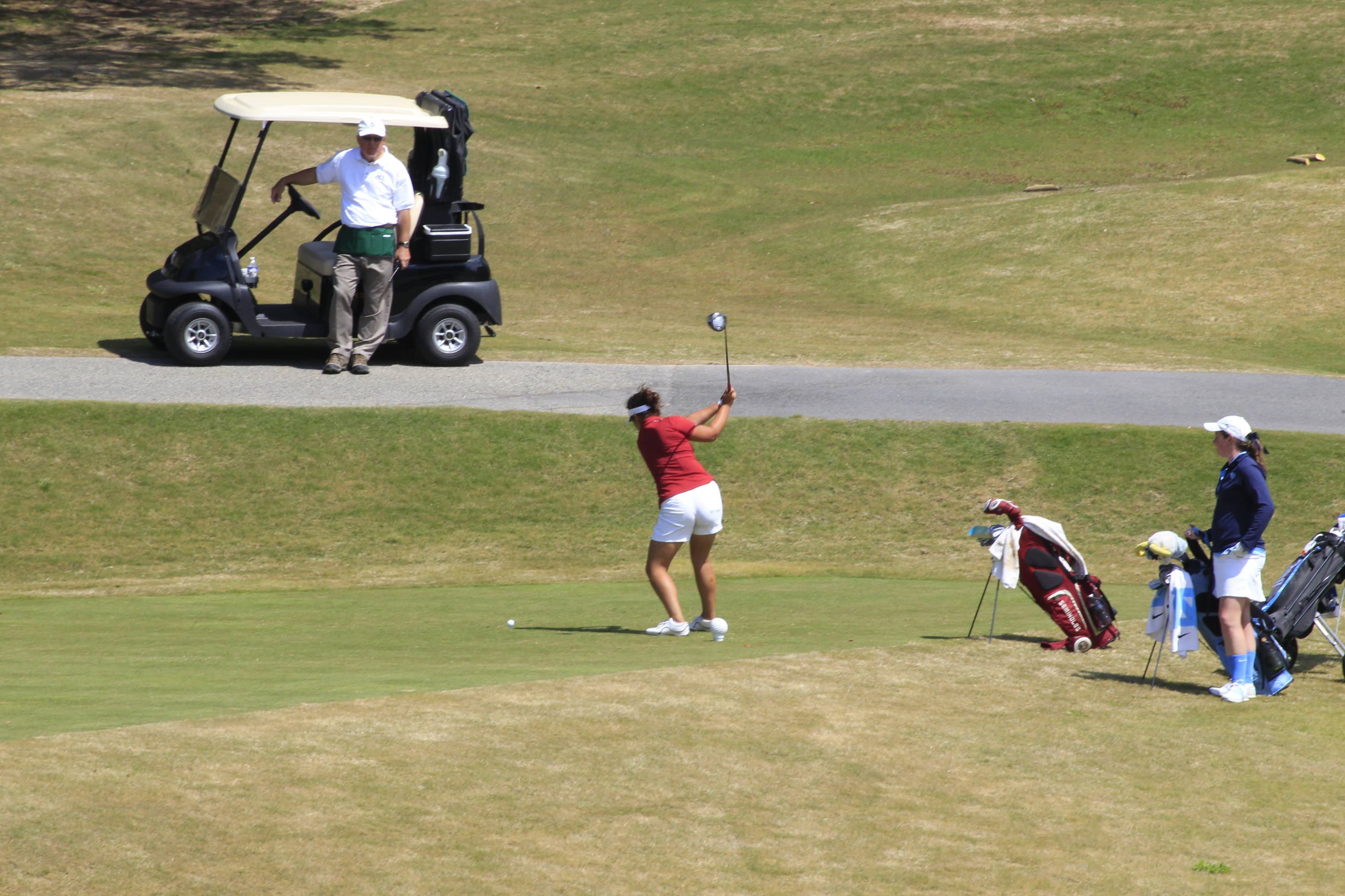 Jessica Negron at 2012 ACC Championship