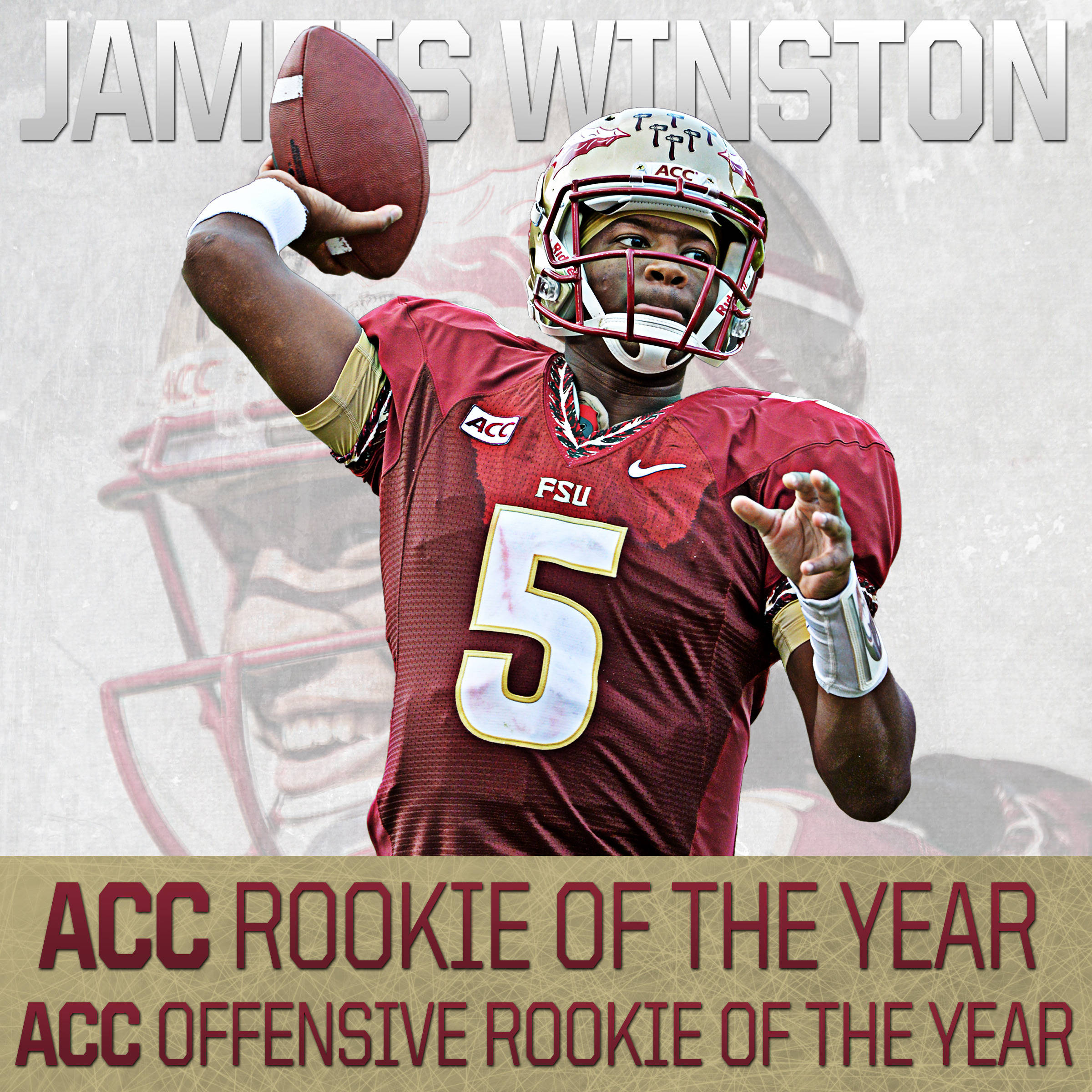 Jameis Winston ACC Rookie of the Year