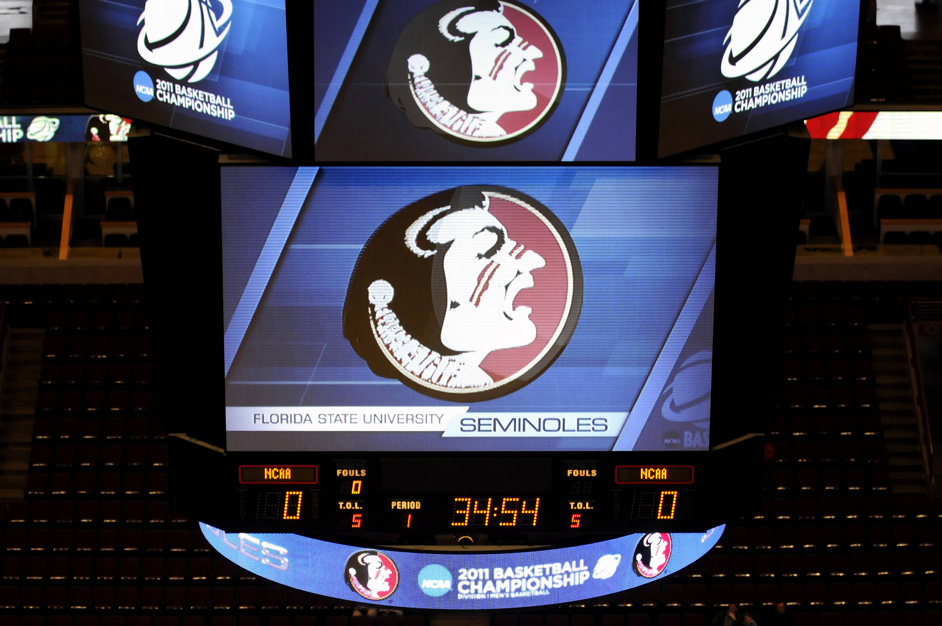 The NCAA welcomes Florida State to the court for practice