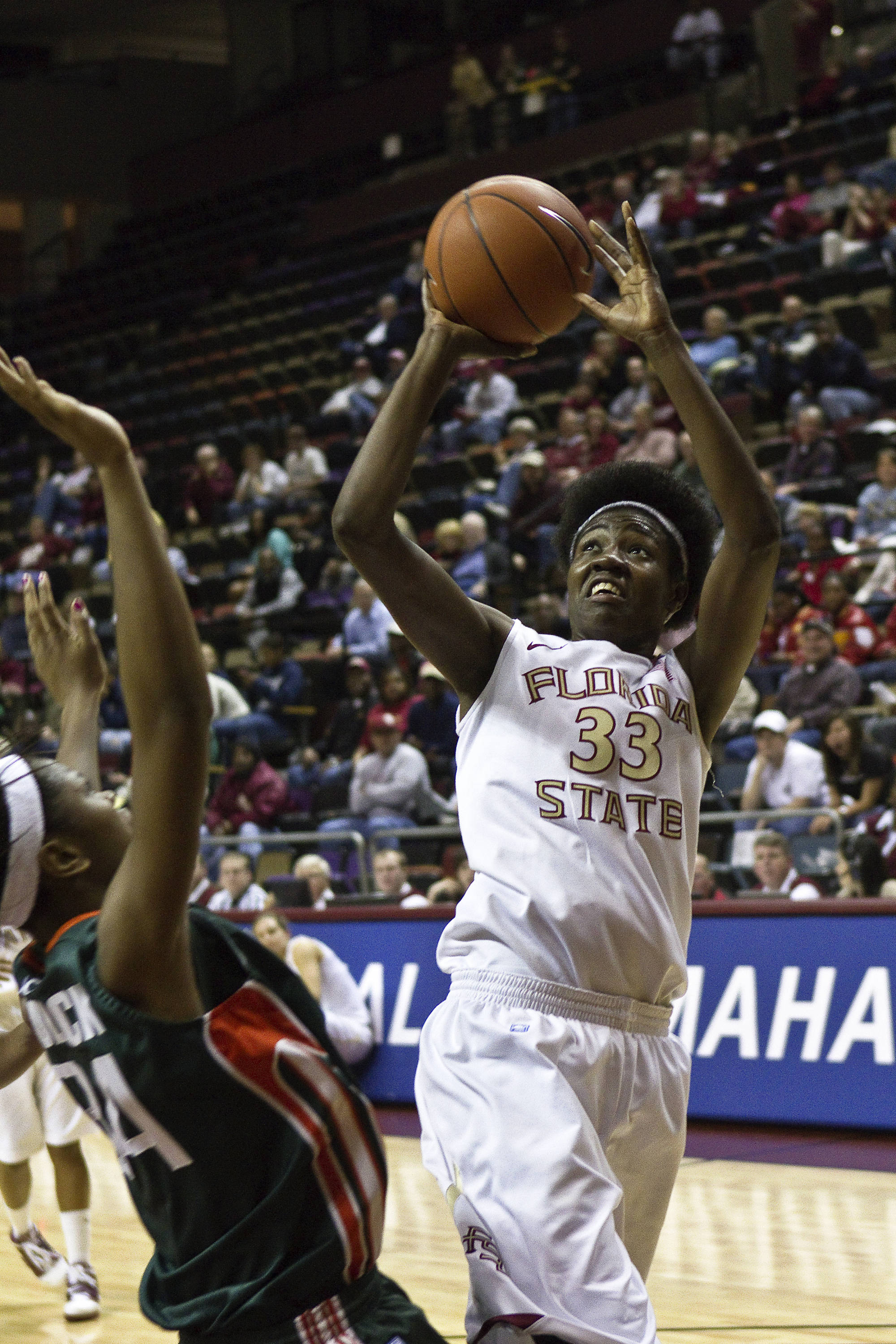 FSU vs Miami - 01/24/11 - Natasha Howard (33)