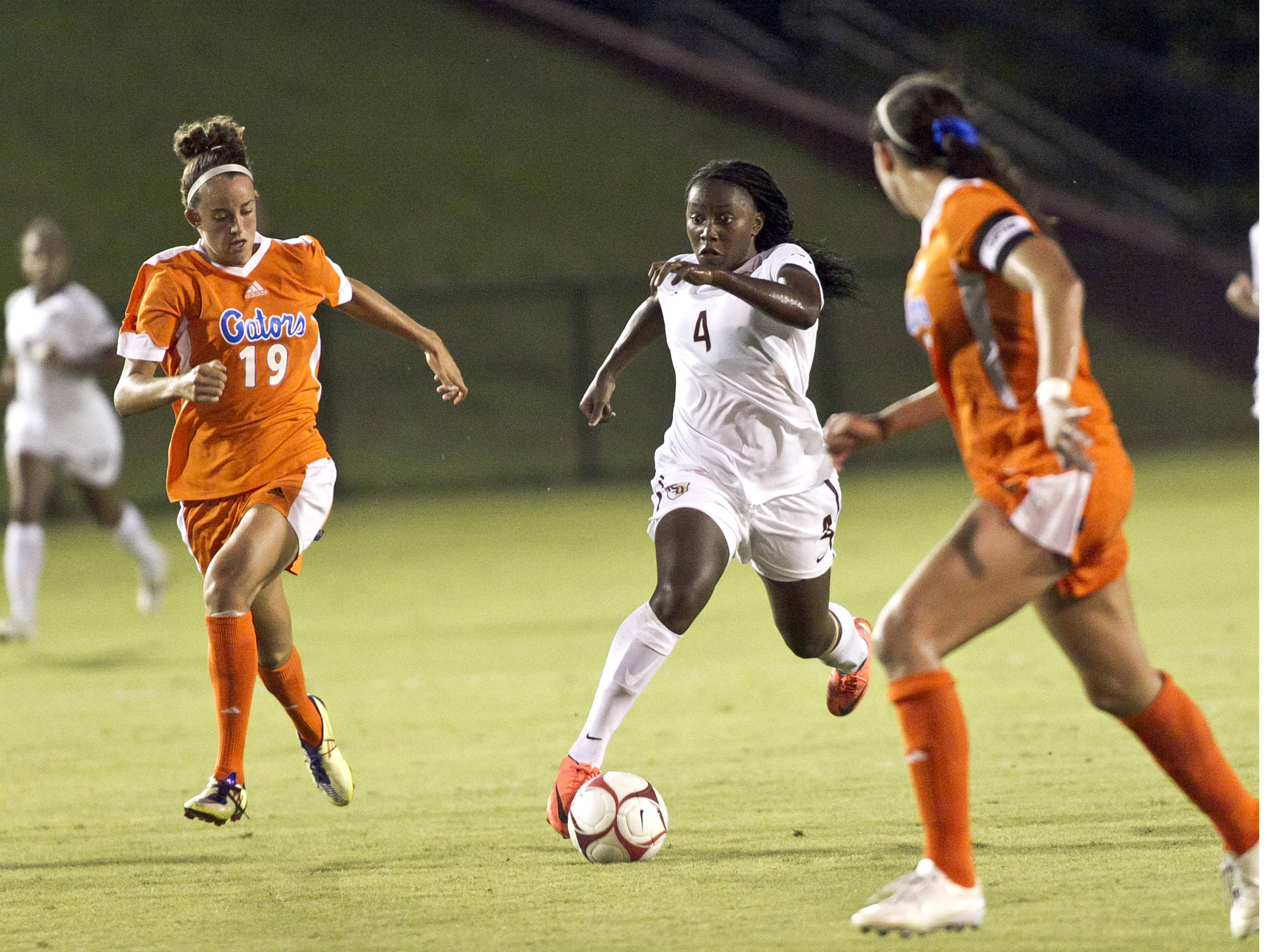 Jamia Fields (4),  FSU vs UF