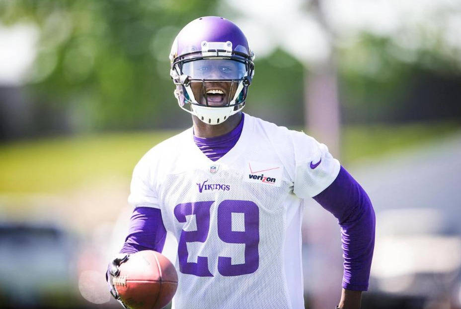 Xavier Rhodes, courtesy of the NFL