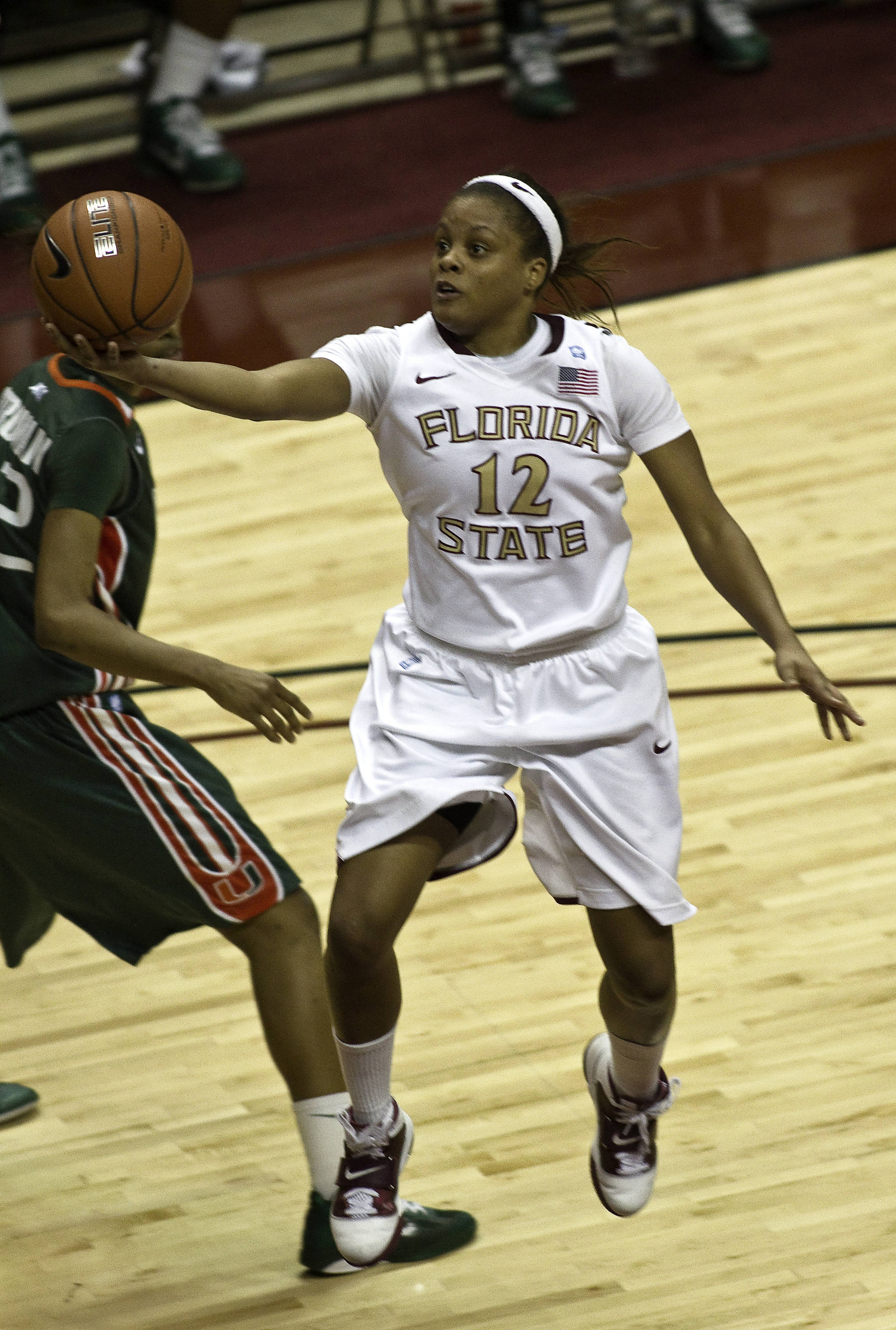 FSU vs Miami - 01/24/11 - Courtney Ward (12)
