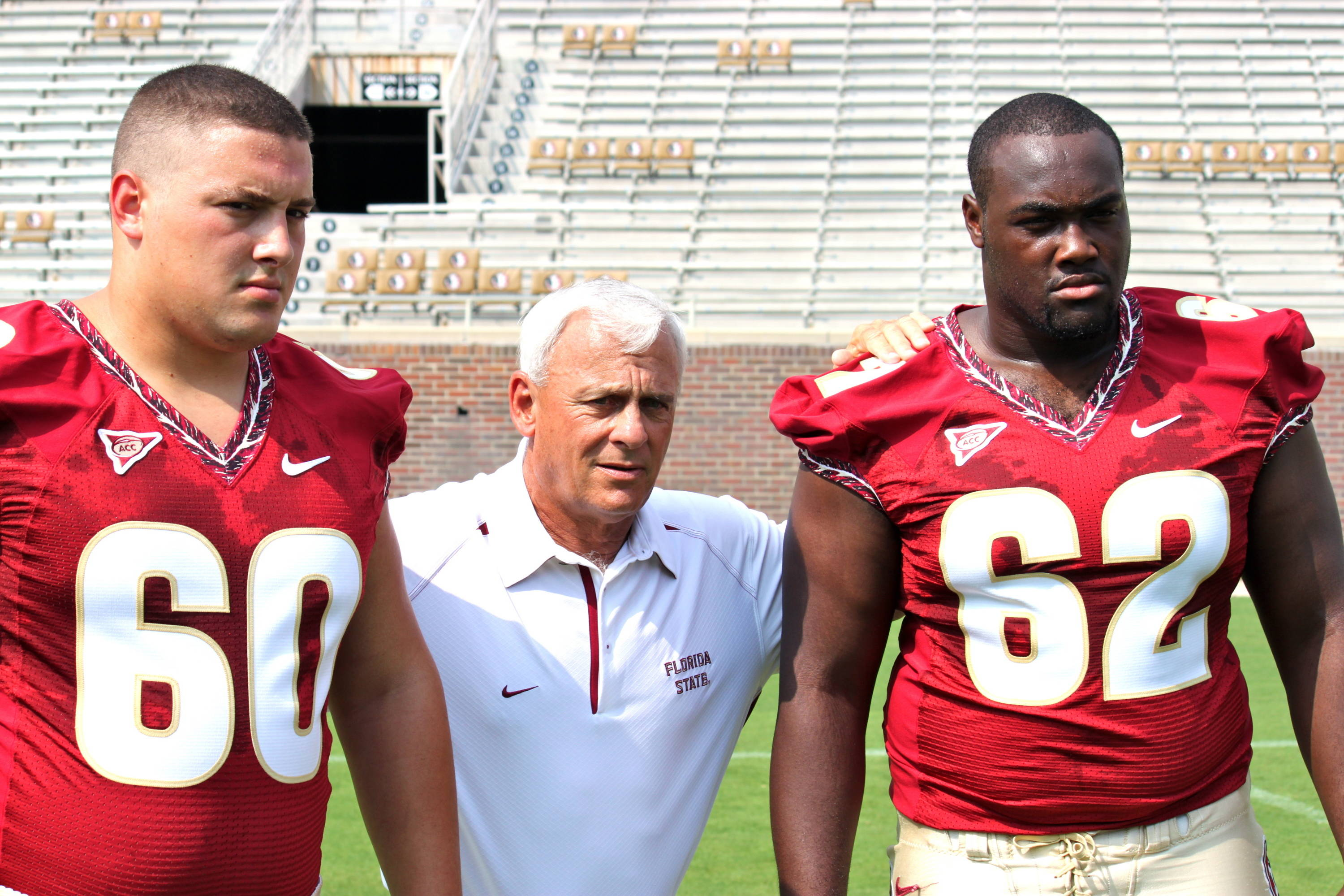 Ryan McMahon (60), Rick Trickett and Rodney Hudson (62)