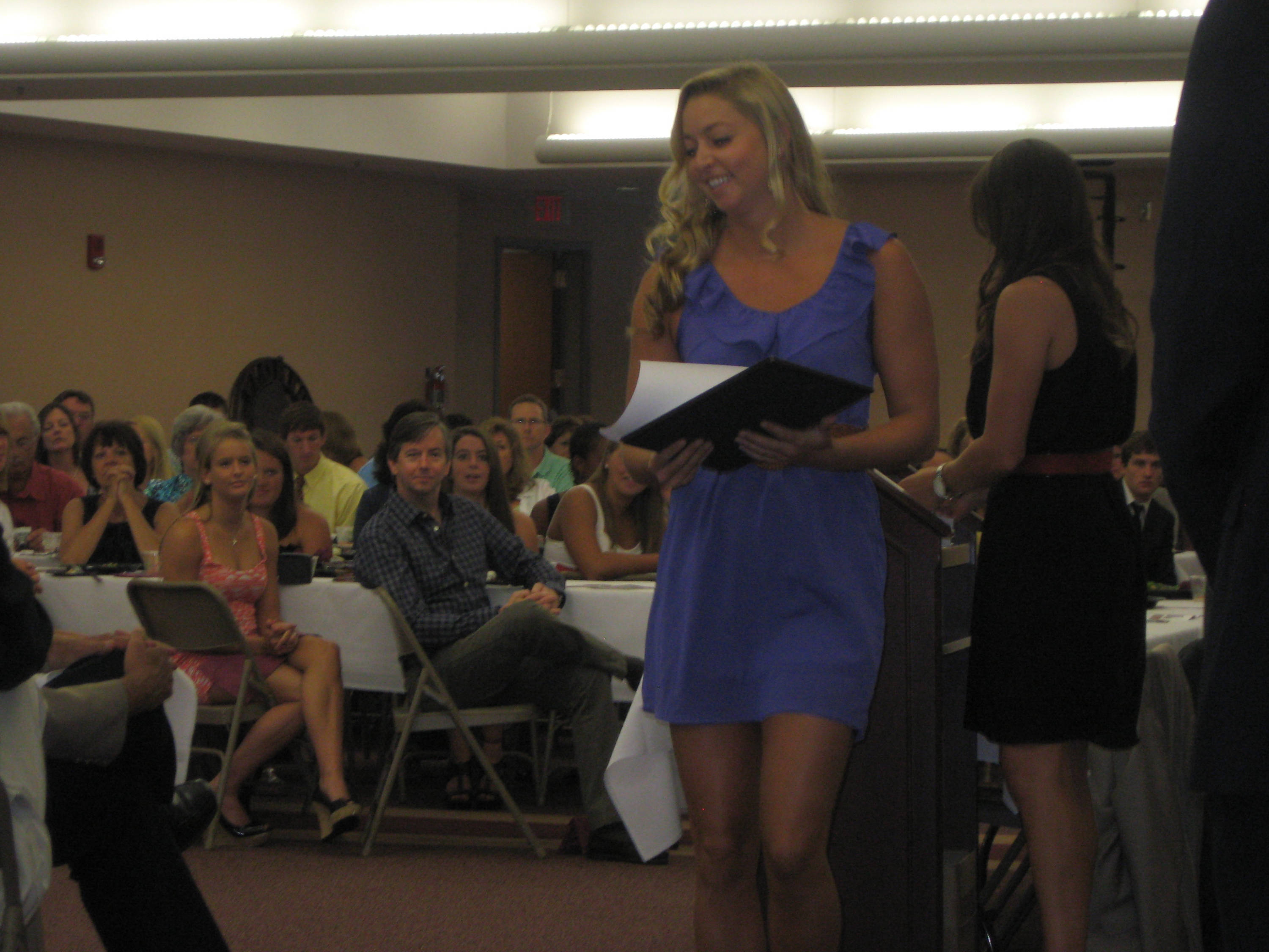 2011 Swimming and Diving Banquet: Brittany Selts