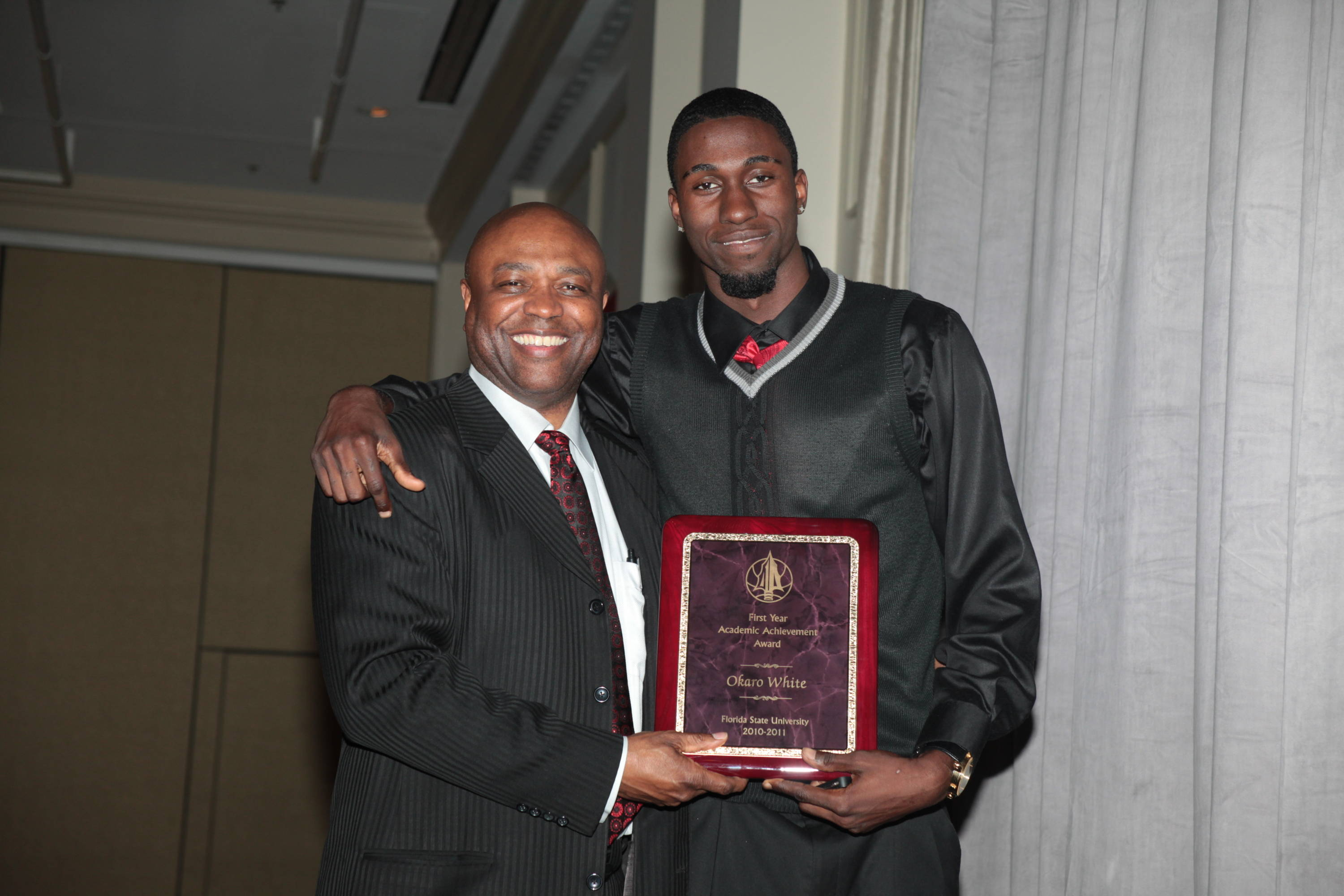 2011 Men's Basketball Banquet - Okaro White