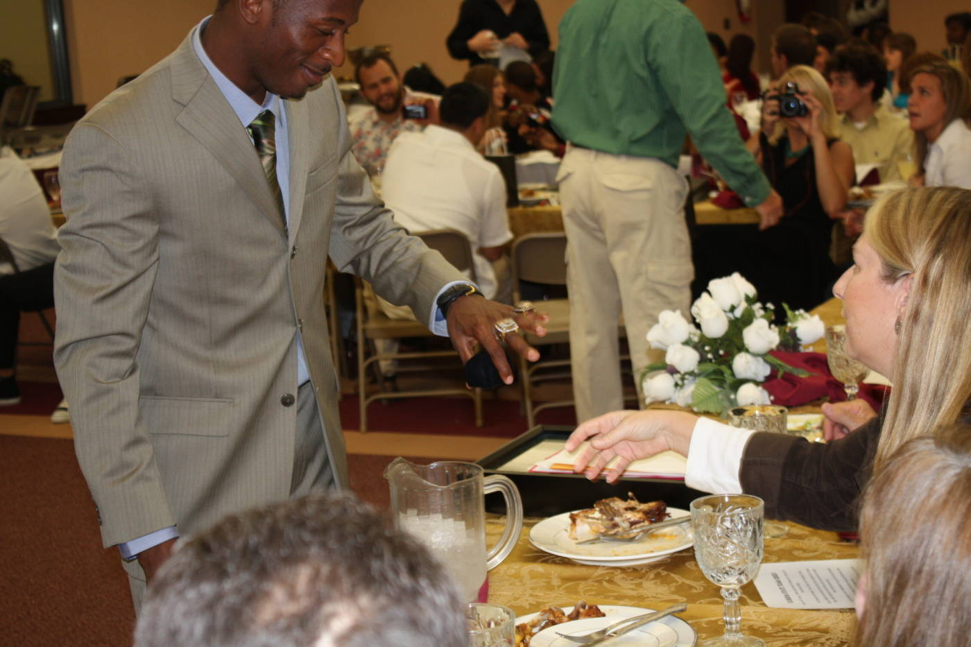 The 2009 Track and Field Ring Ceremony