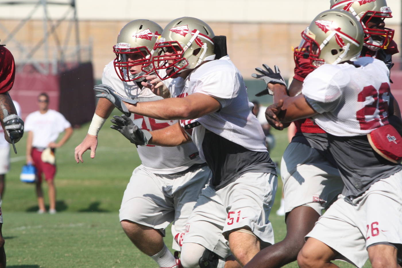 FSU Football Practice: Day Four