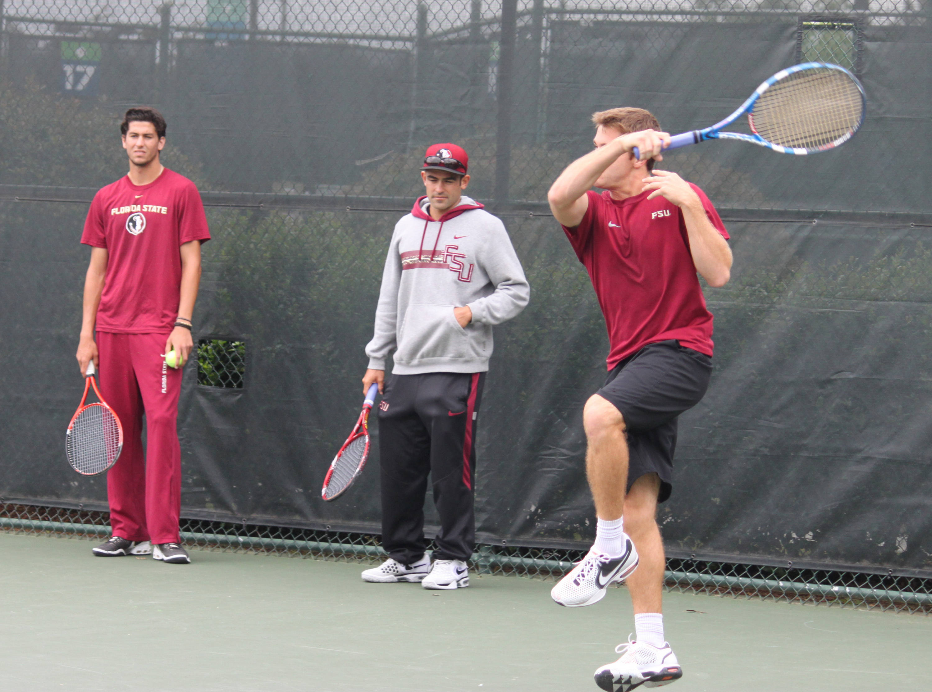Cristian Gonzalez Mendez, Andy Gerst and Anderson Reed