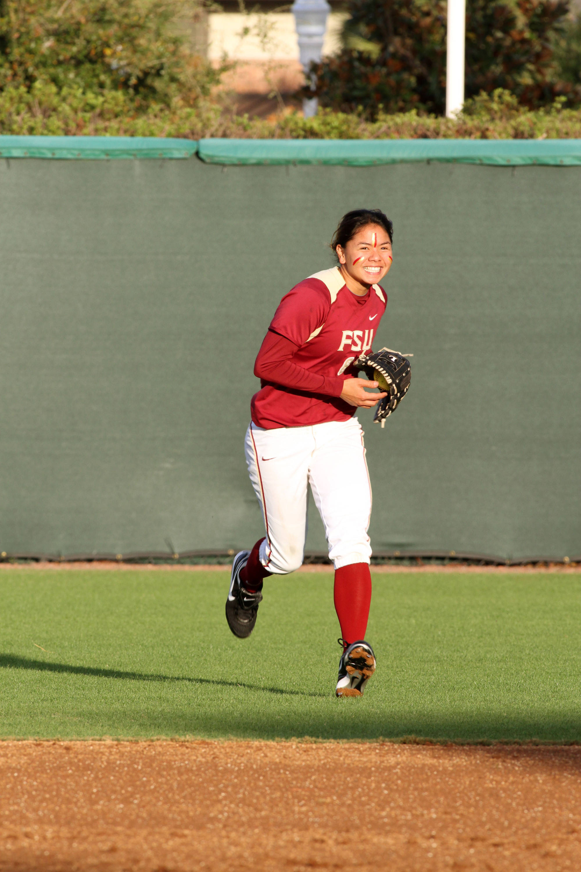 2012 FSU Softball Team Courtney Senas (8)