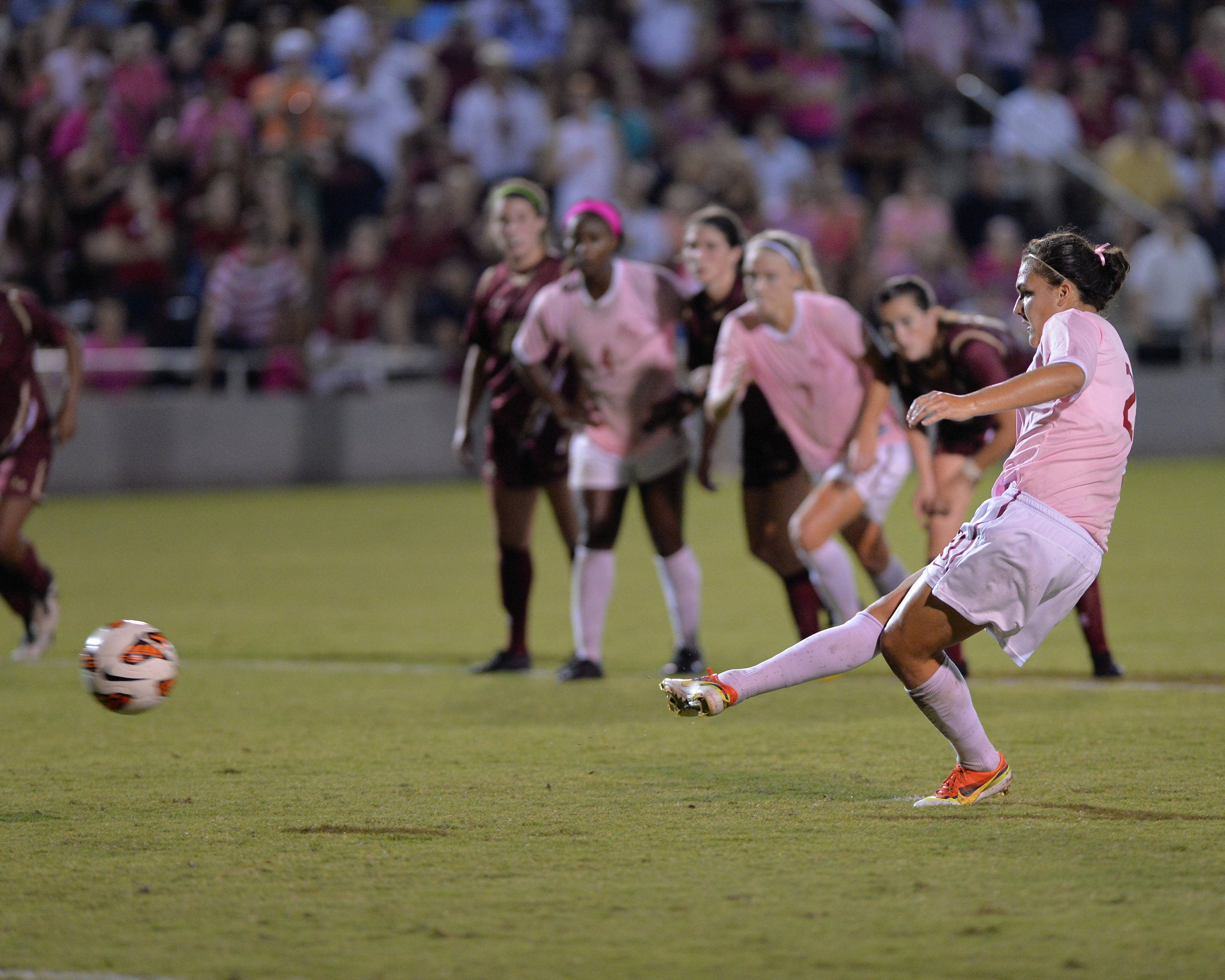 Marta Bakowska-Mathews scores the game-winner in the 82nd minute.