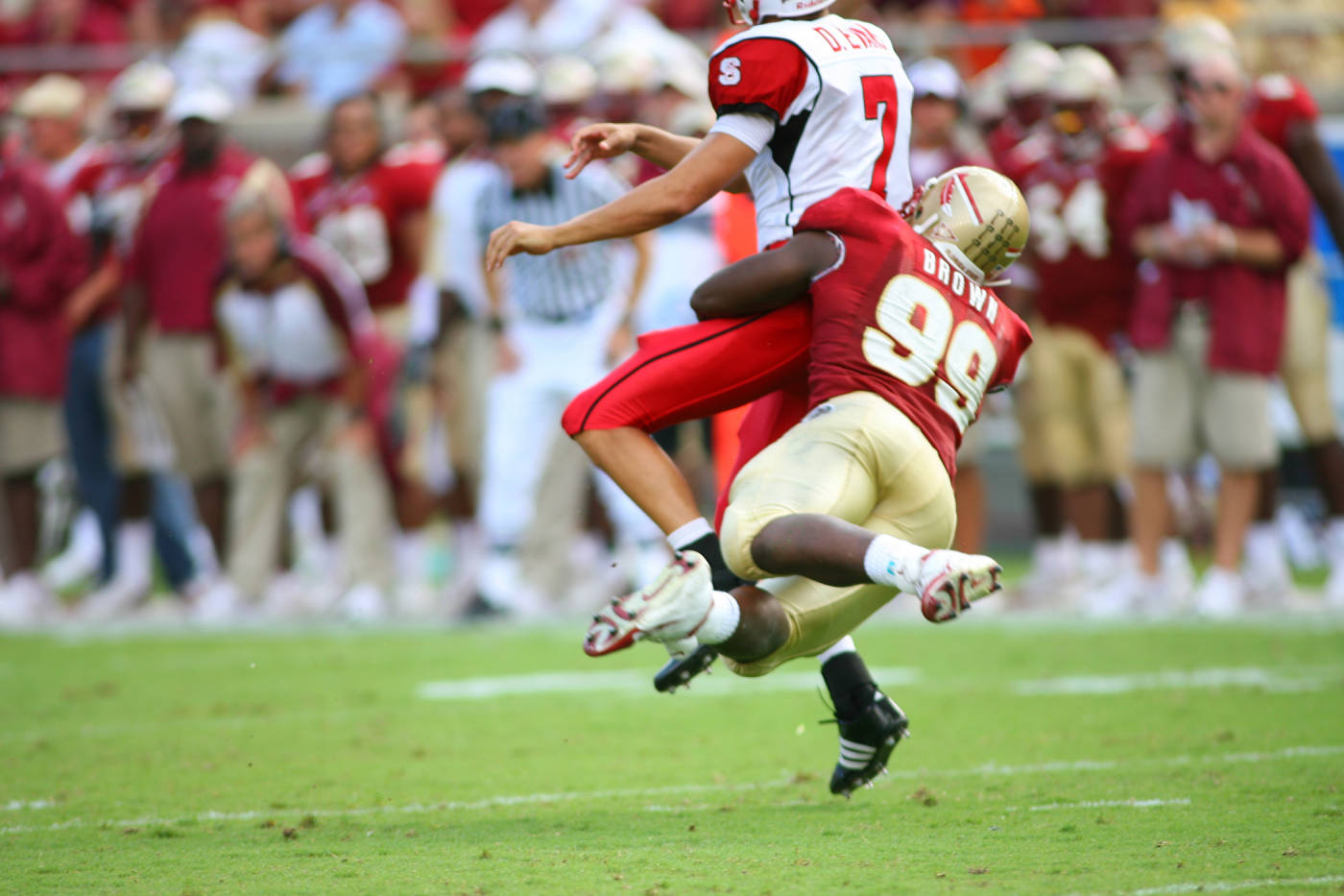 Everette Brown vs. NC State