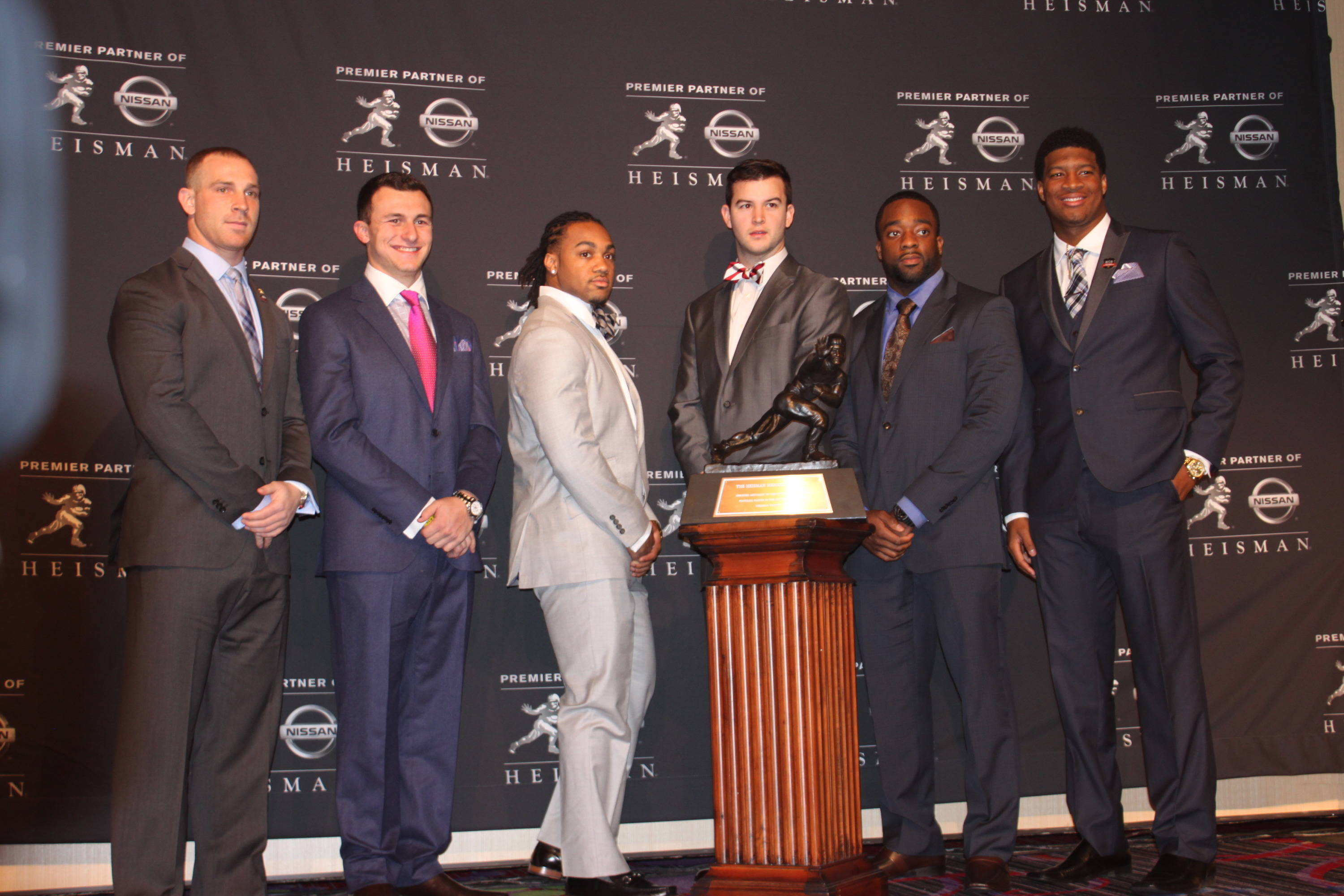 Jameis Winston with Heisman finalists