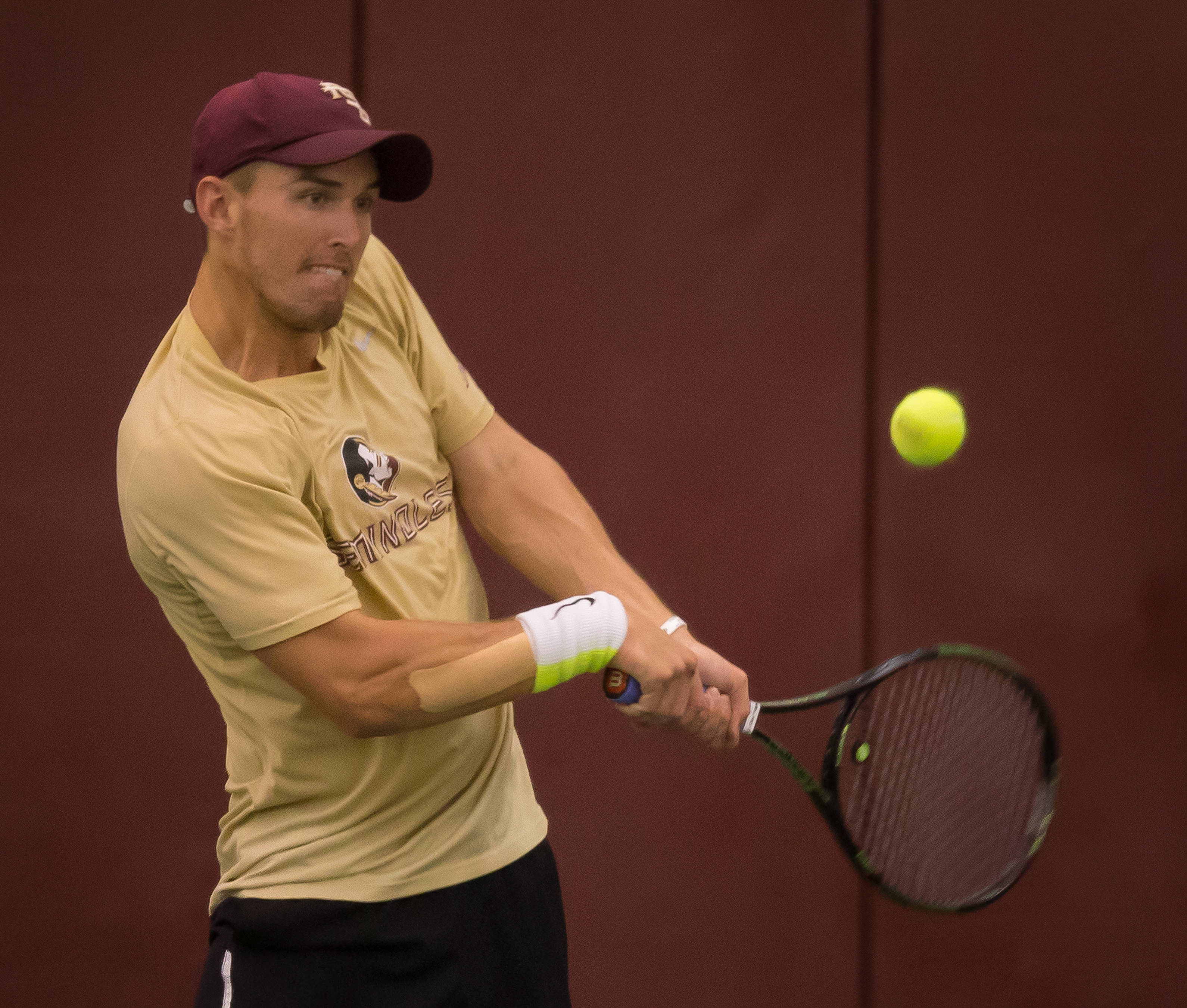 Men's Tennis vs. Wake Forest, 3-27-16
