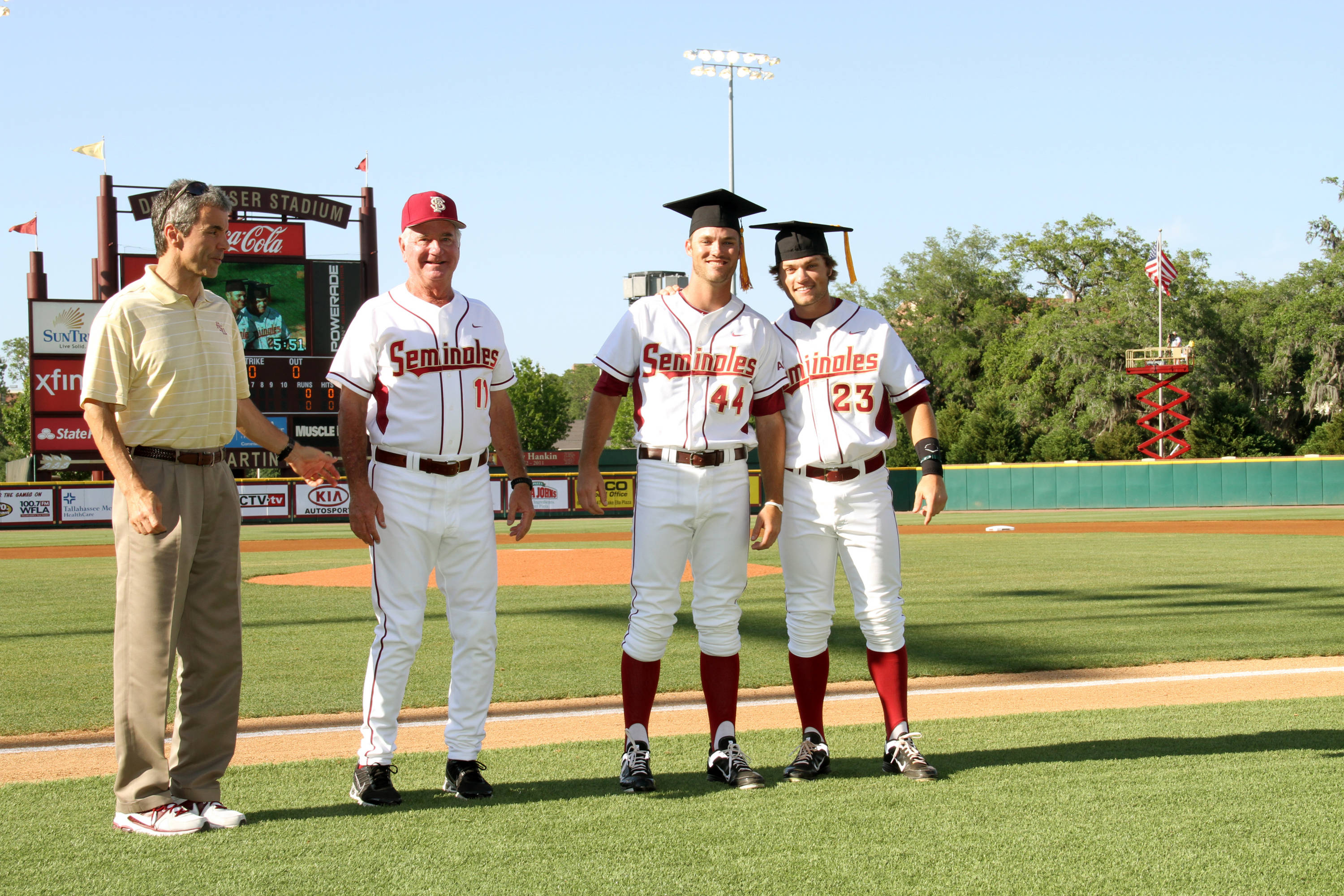 Spring 2012 Graduating Seniors from the FSU Baseball Team Mack Waugh and James Ramsey