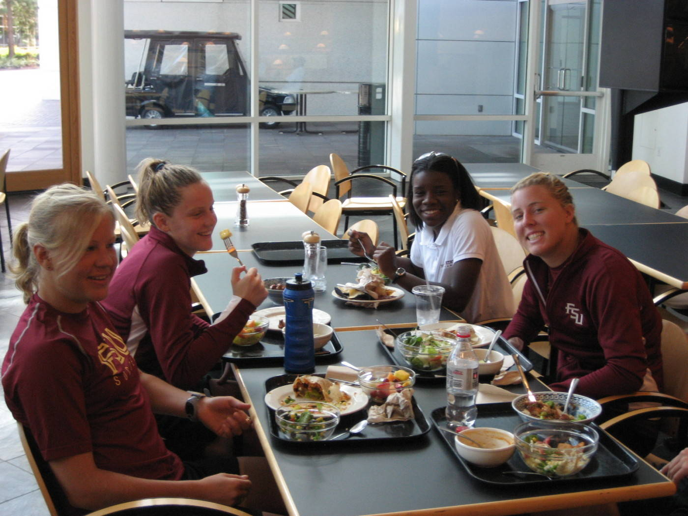 Lunch at Nike Town in Portland