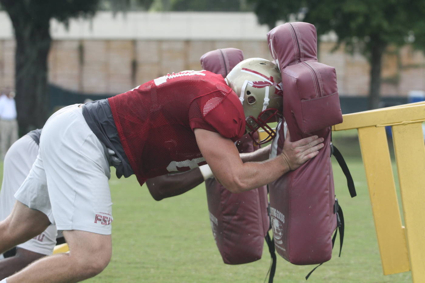 Football Practice - August 28th, 2009#$%^Courtesy:  Seminoles.com