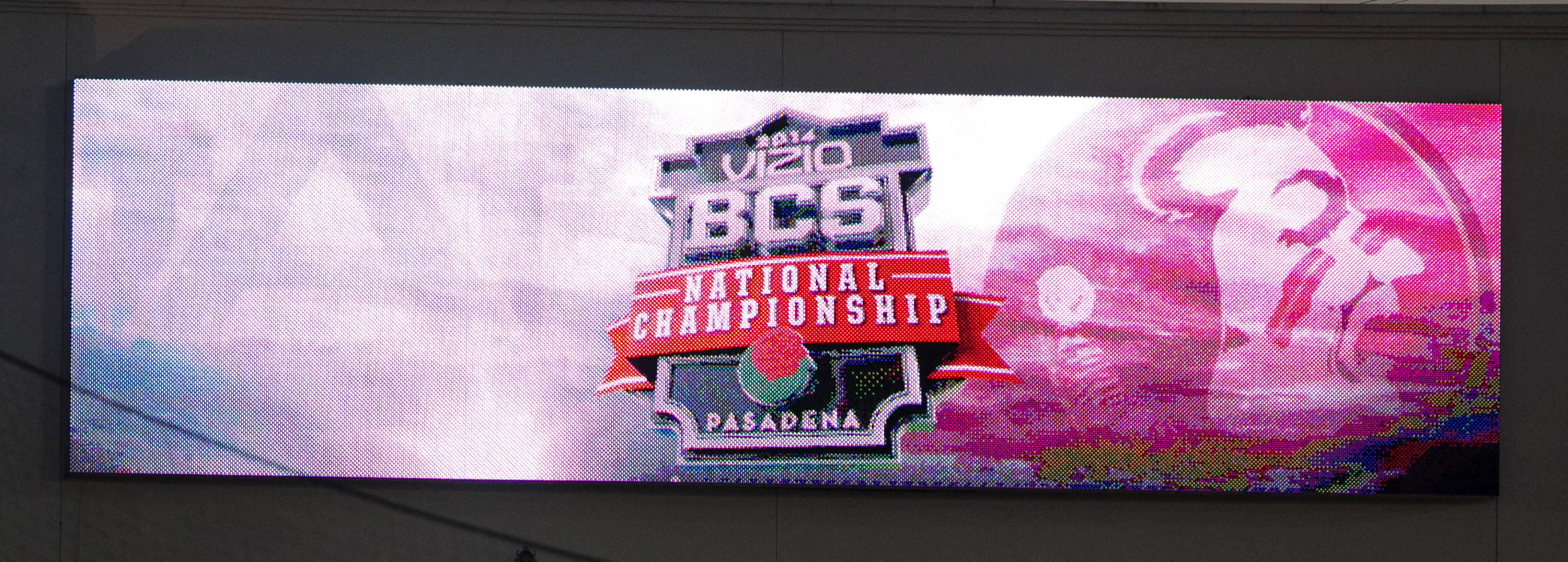BCS Championship, FSU vs Auburn, Rose Bowl, Pasadena, CA,  1-06-14,  (Photo by Steve Musco)