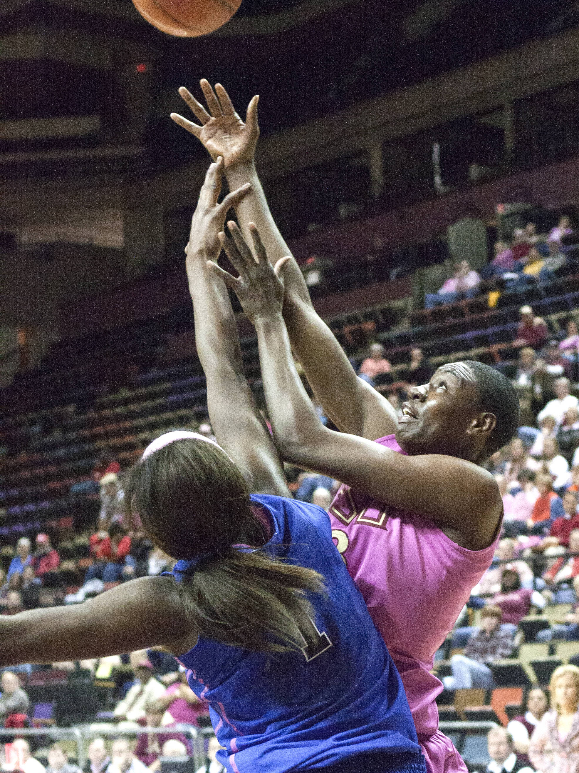 Natasha Howard (33), FSU vs Duke  02/12/2012