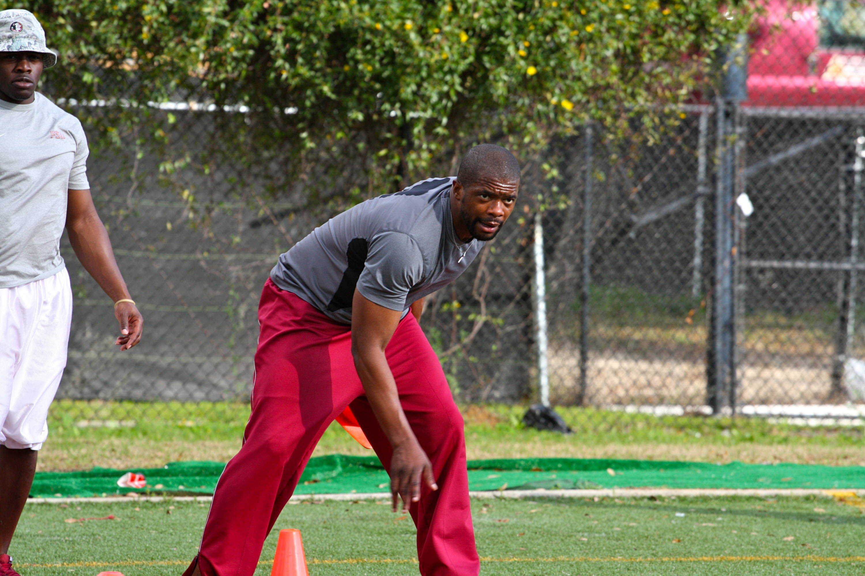 Quarterbacks coach Dameyune Craig