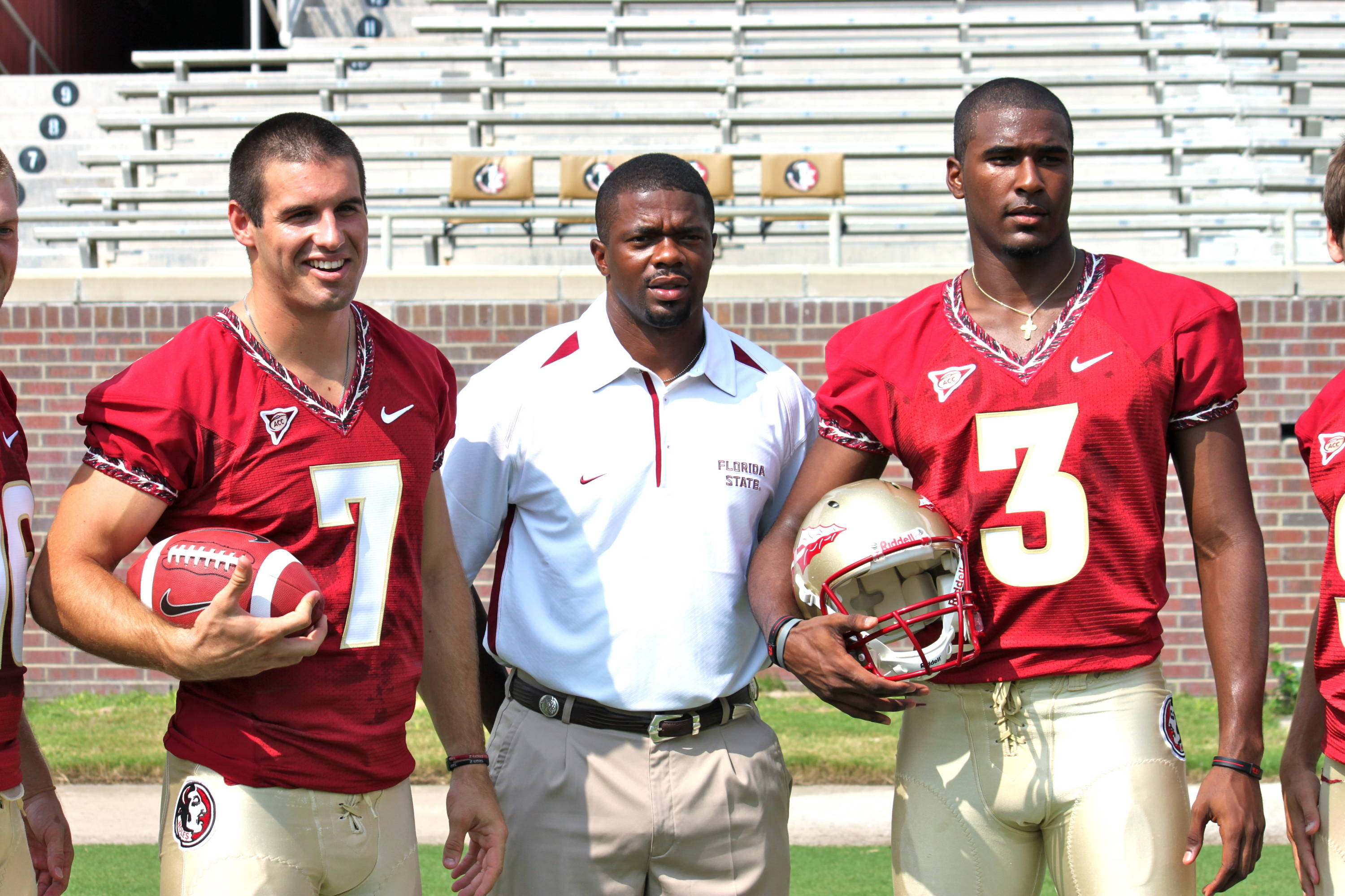 Christian Ponder,  Dameyune Craig and EJ Manuel.