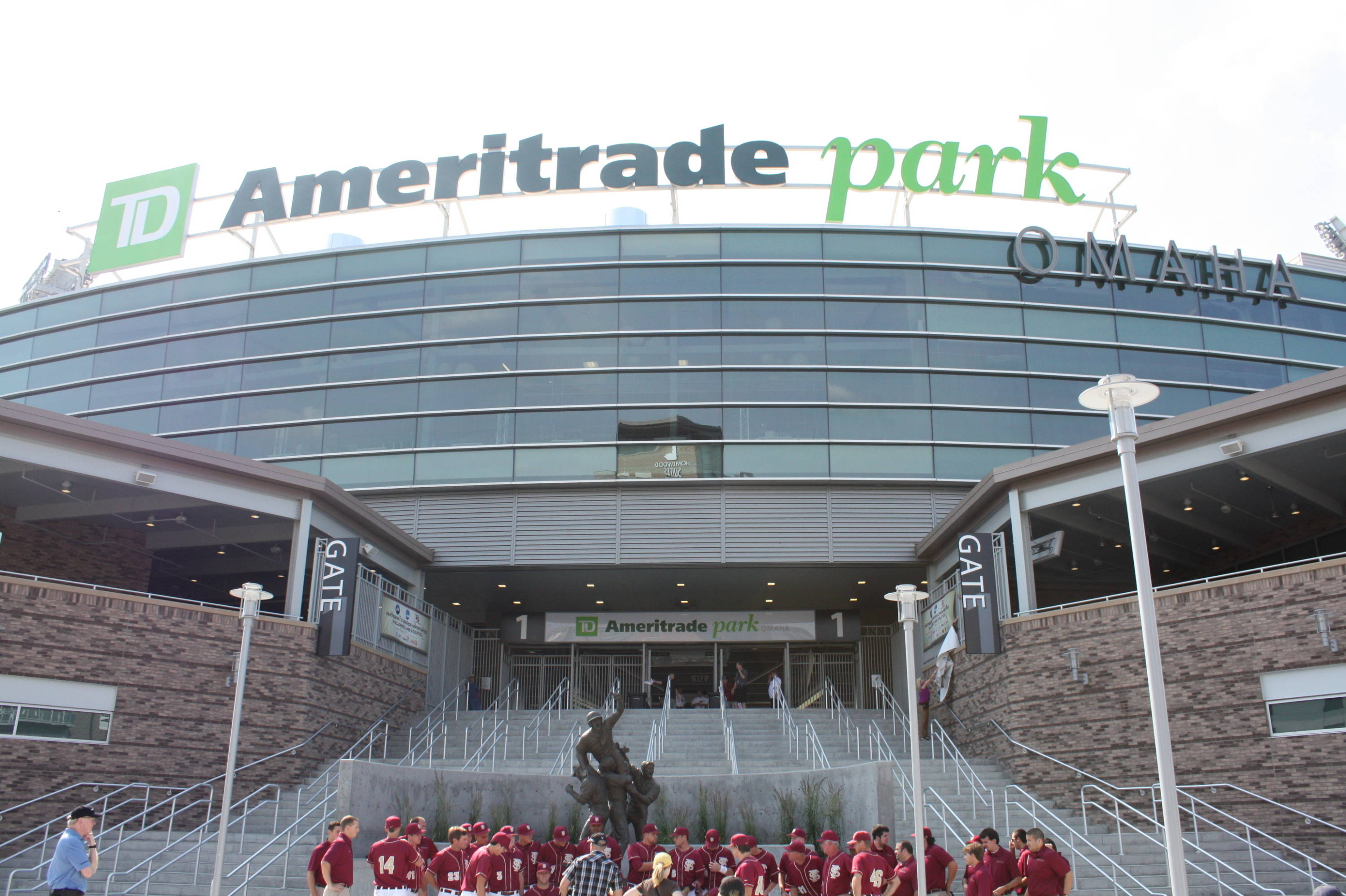 TD Ameritrade Park - home of the College World Series