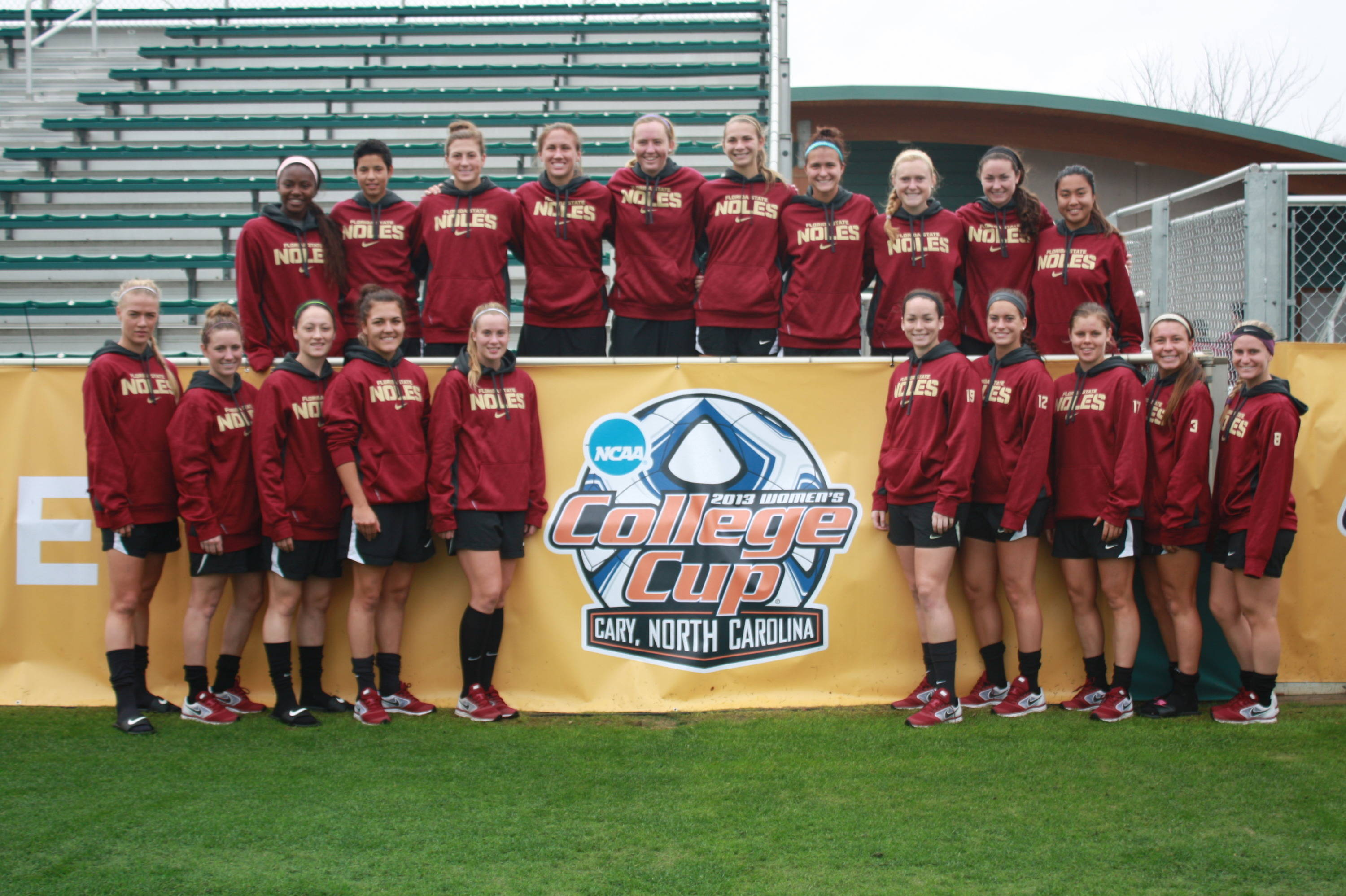Florida State at the 2013 College Cup.