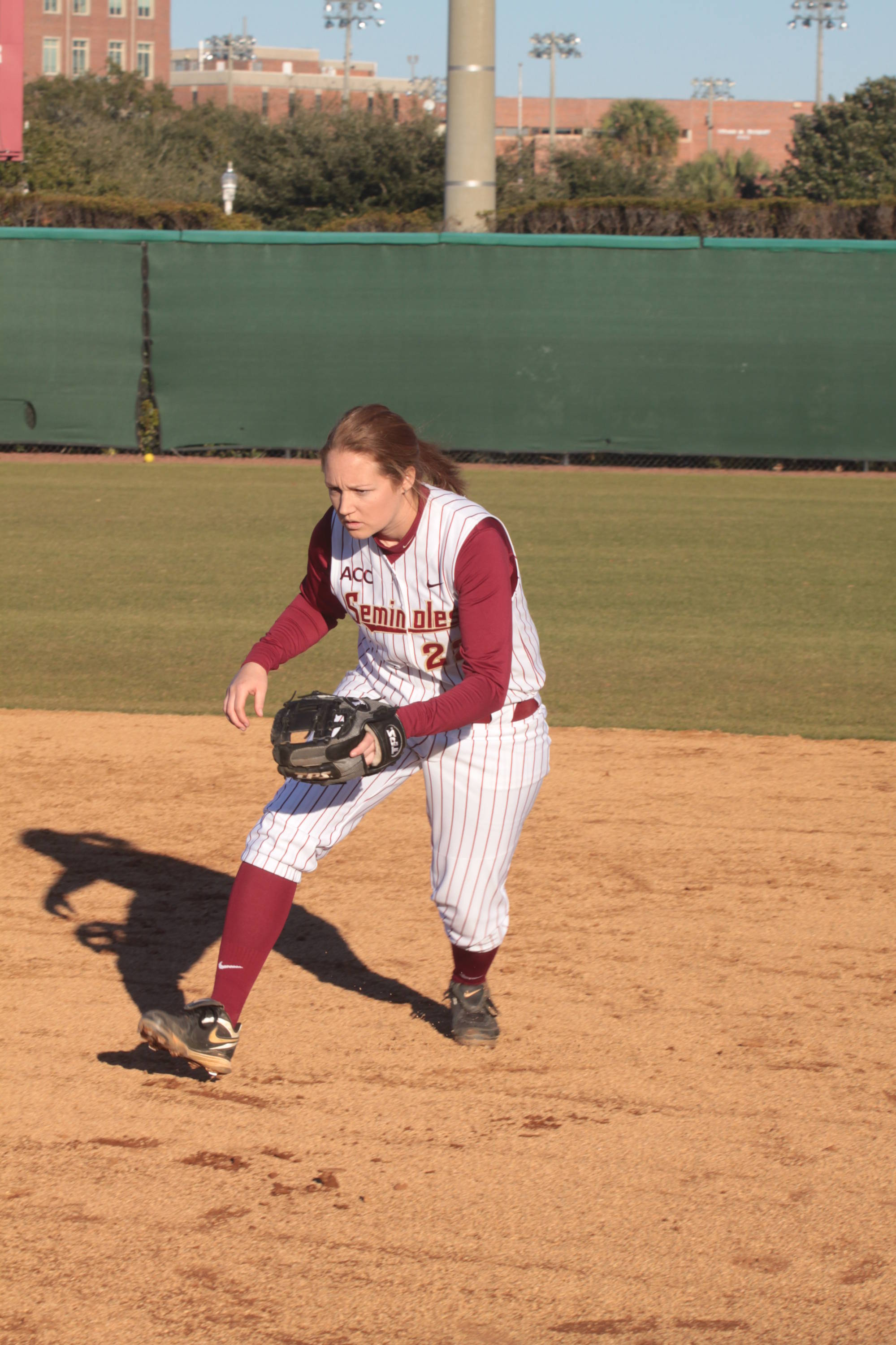 2011 FSU Seminole Softball Team  Mallory Borden (22)