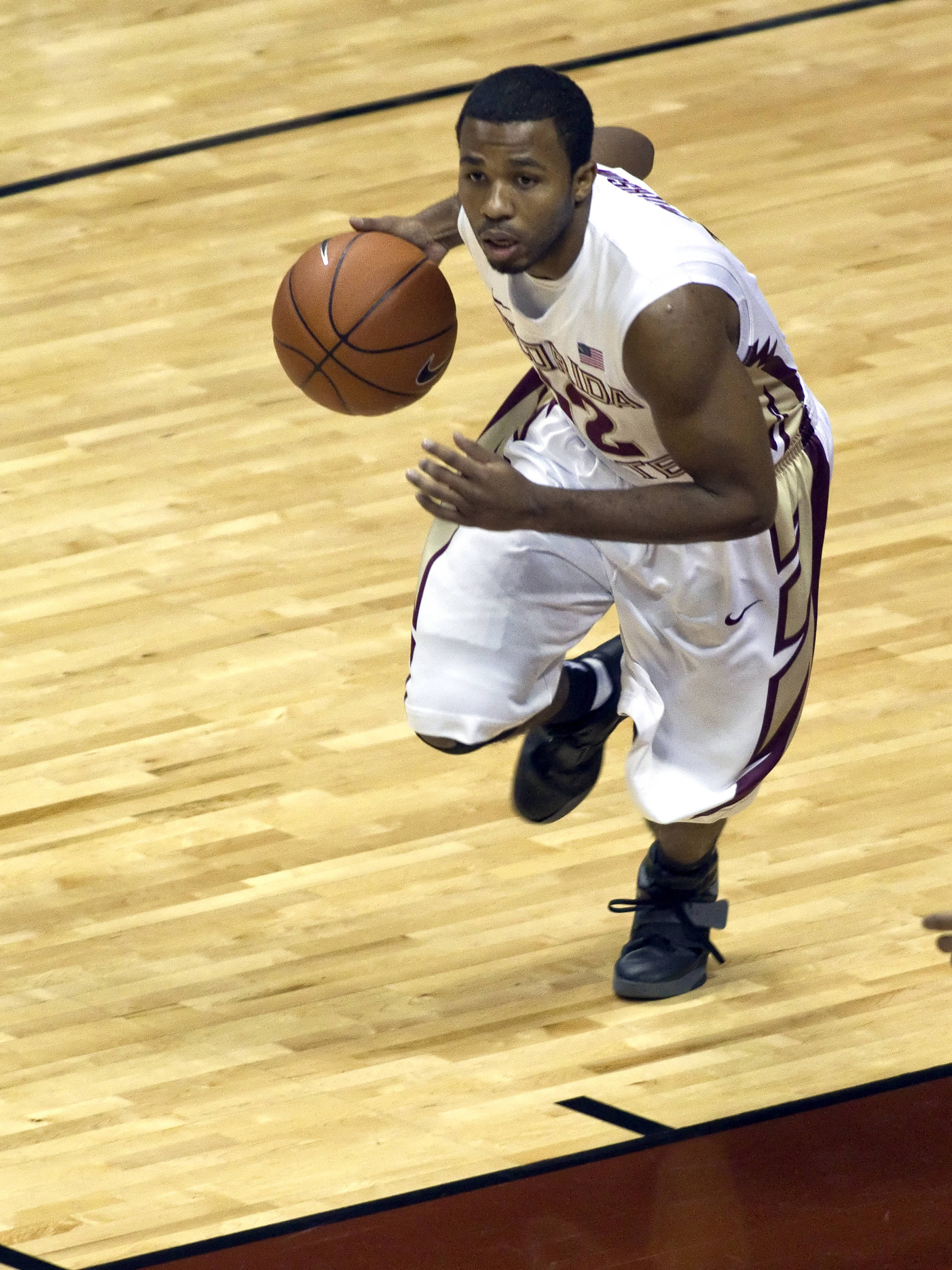 Jeff Peterson (12), FSU vs Loyola-Mary., 12/18/2011