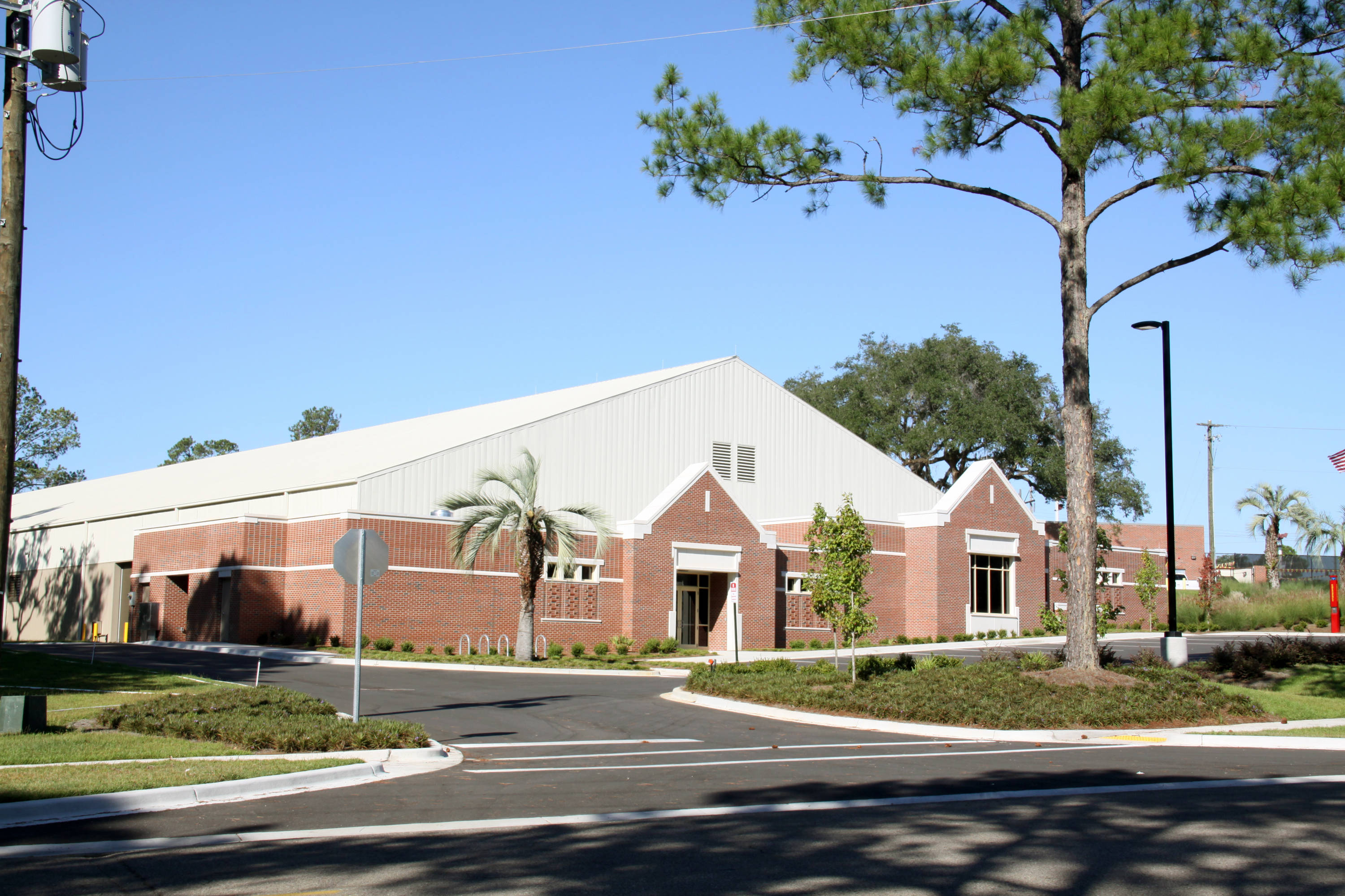 The Indoor Tennis Facility at FSU on Pottsdamer Street.