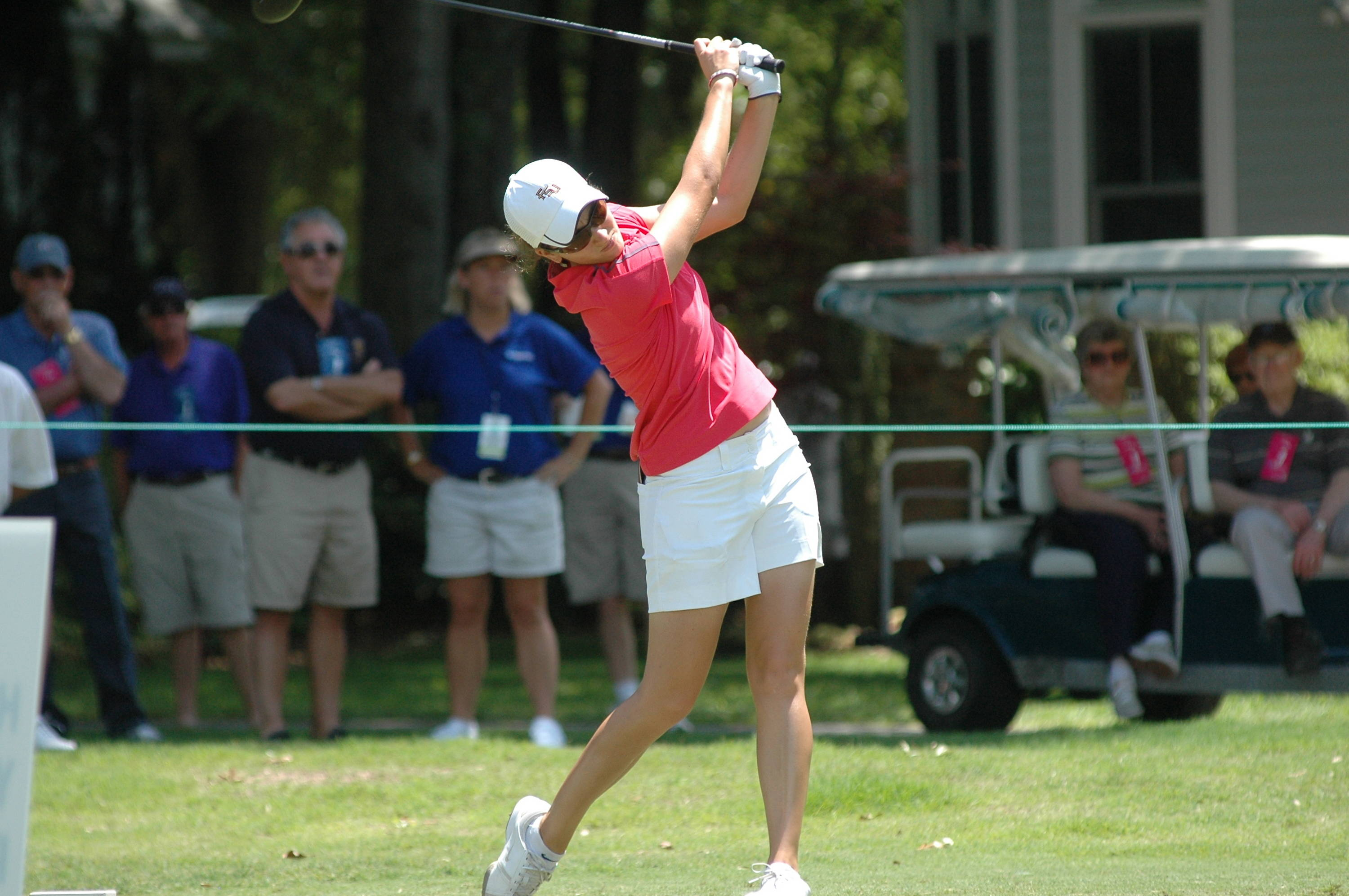 Macarena Silva - NCAA Women's Golf 2010 Day 4