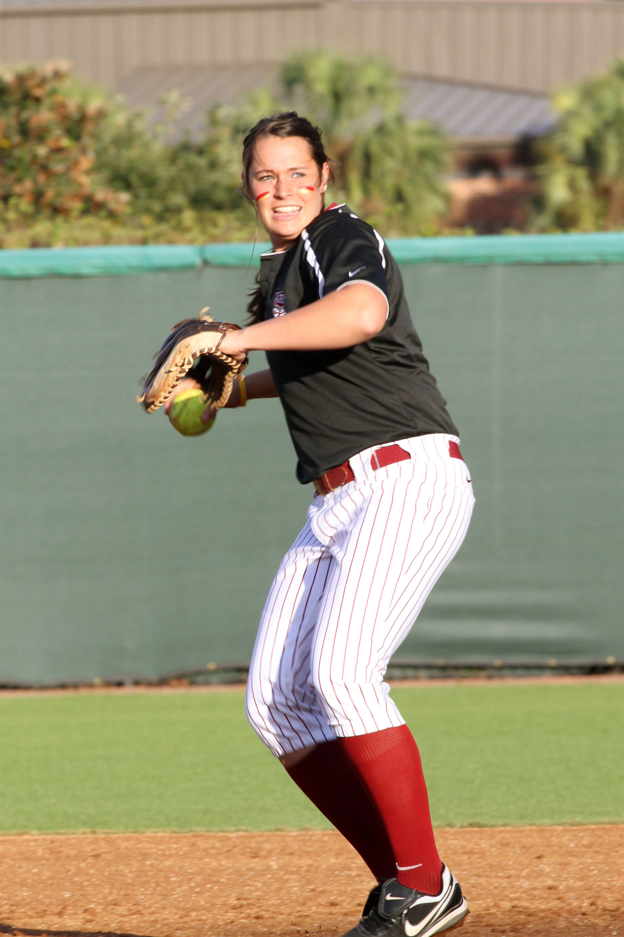 2012 FSU Softball Team Erika Leonard (15)