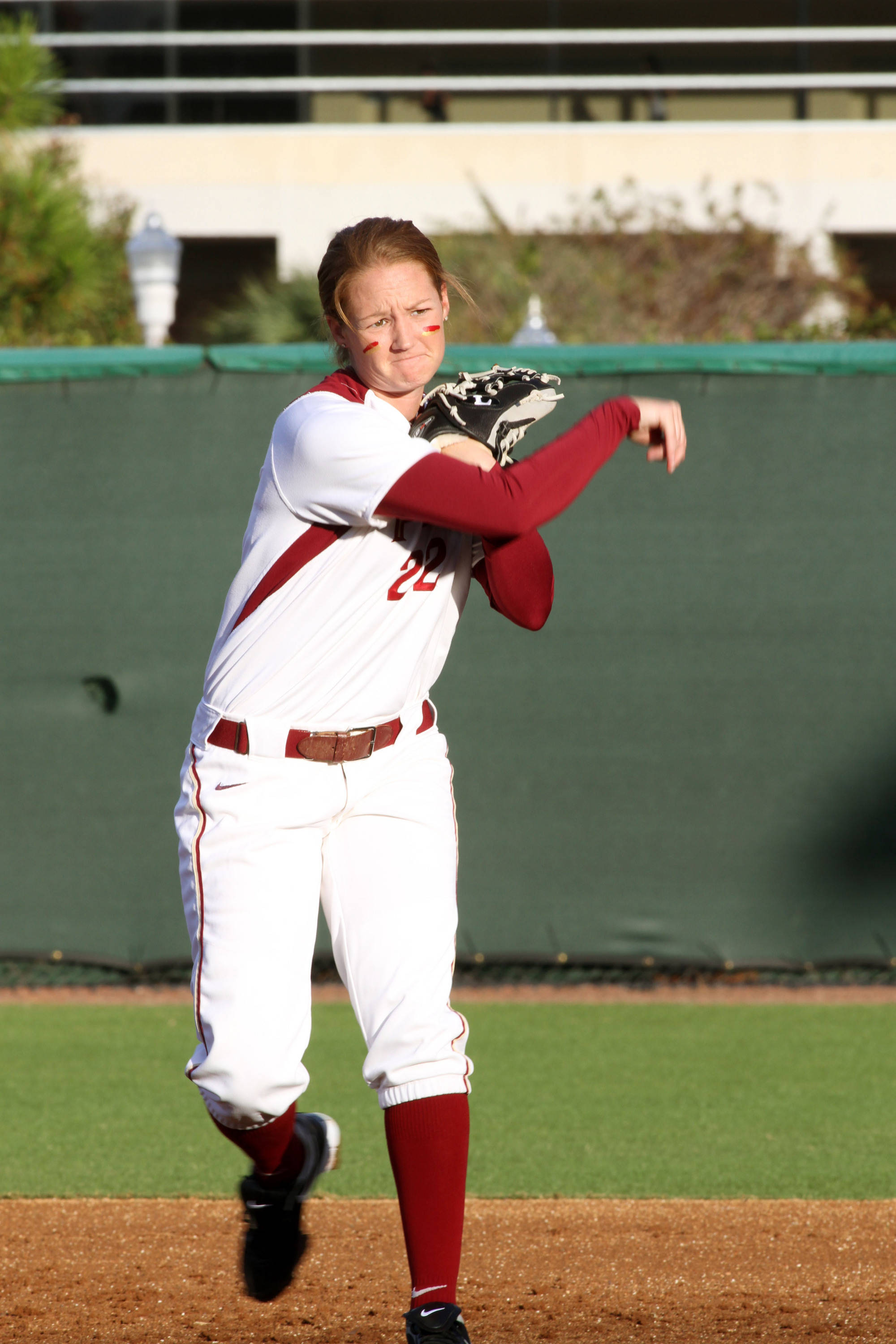 2012 FSU Softball Team Mallory Borden (22)