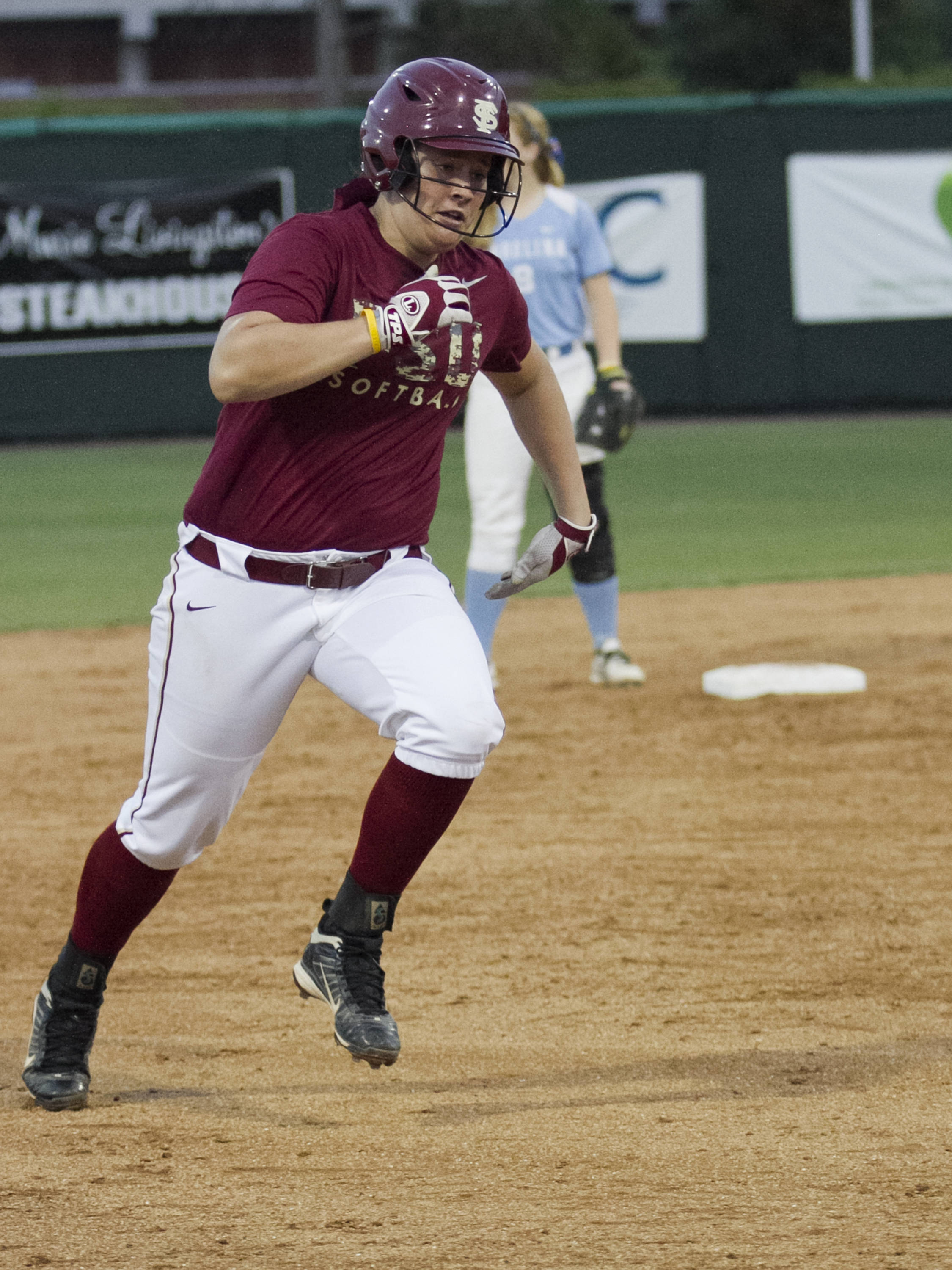 Erika Leonard, FSU Softball vs NC,  04/02/2012
