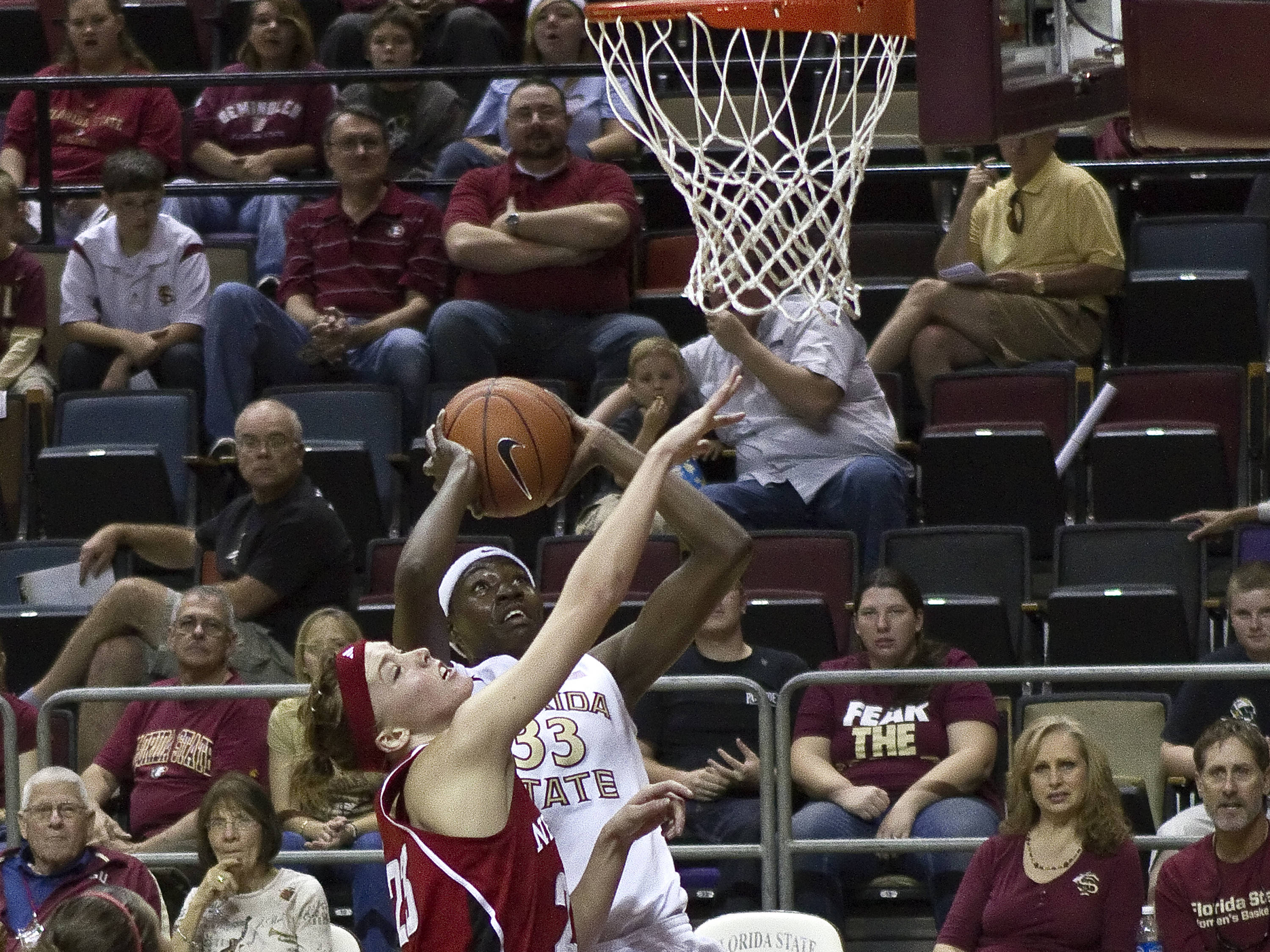Natasha Howard (33), FSU vs Nebraska, 11/27/2011