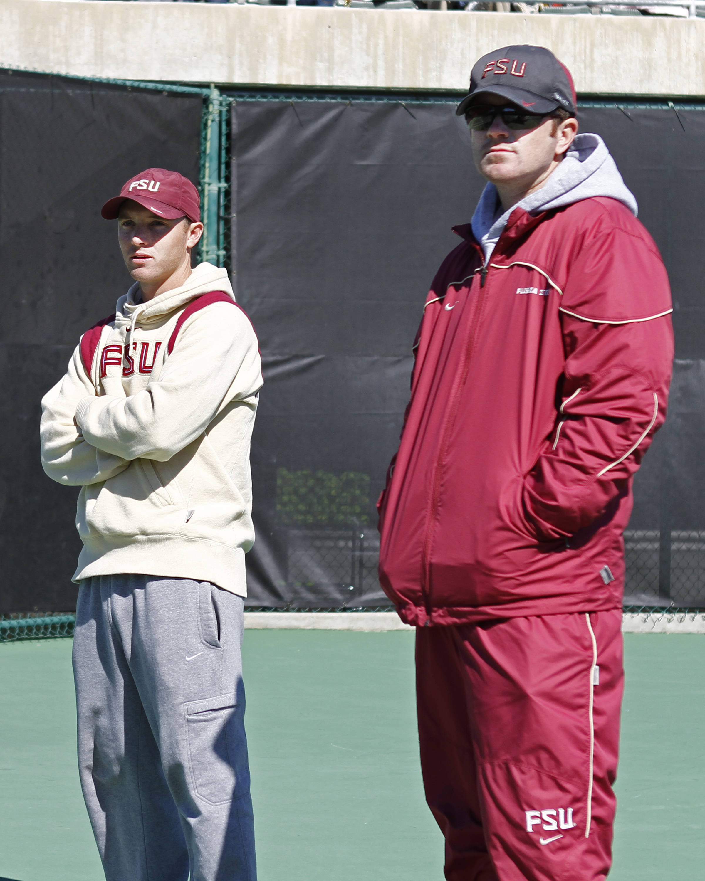 FSU vs Texas- 02//12/11 - Coaches Mat Cloer and Nick Crowell