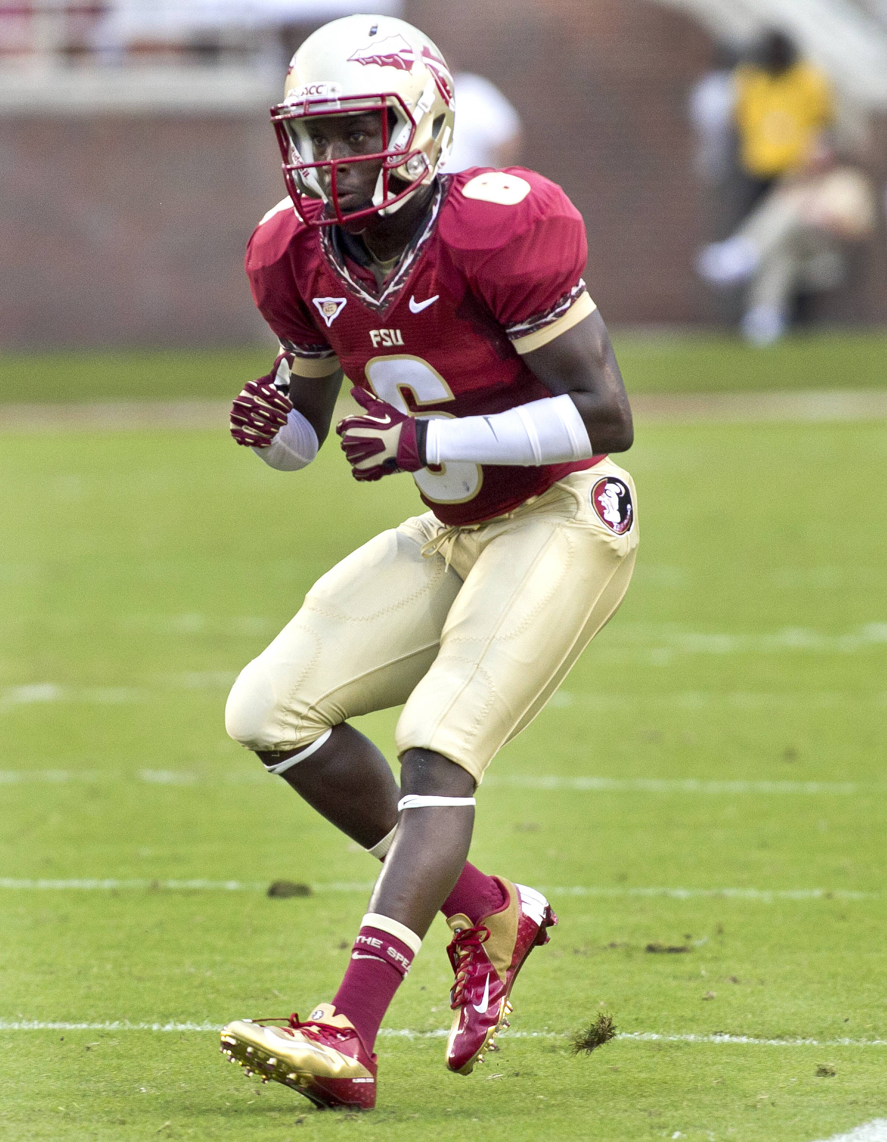 Nick Waisome (6),  FSU vs Savannah State, 9/8/12 (Photo by Steve Musco)