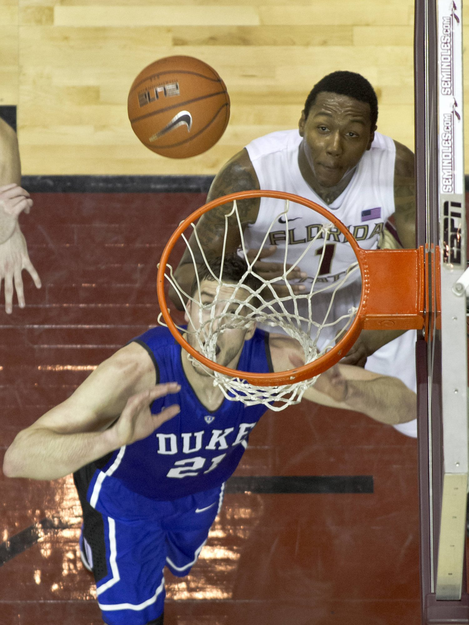 Xavier Gibson (1), FSU vs Duke,  02/23/2012