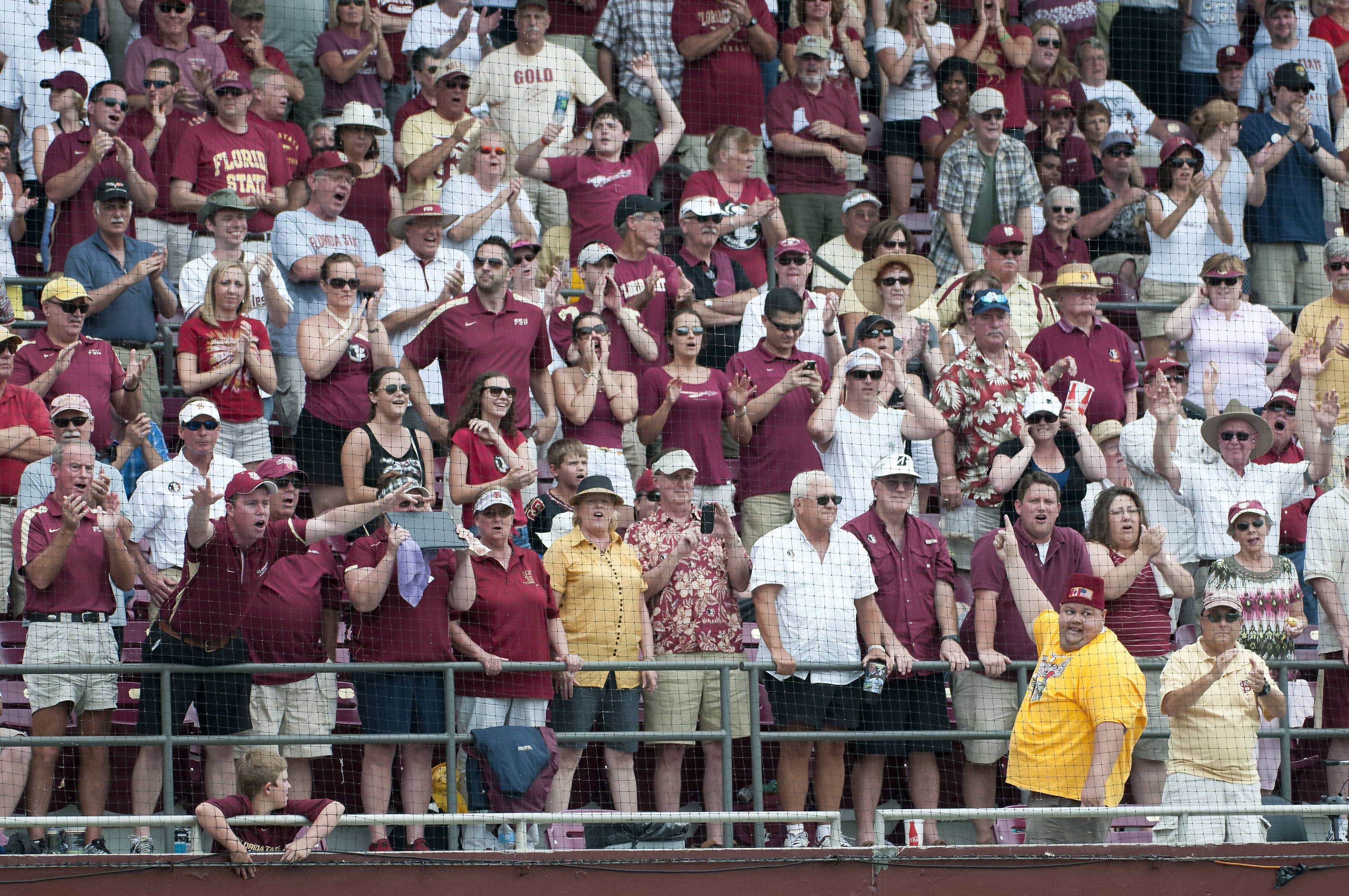 Seminole fans get pumped up by The Animals