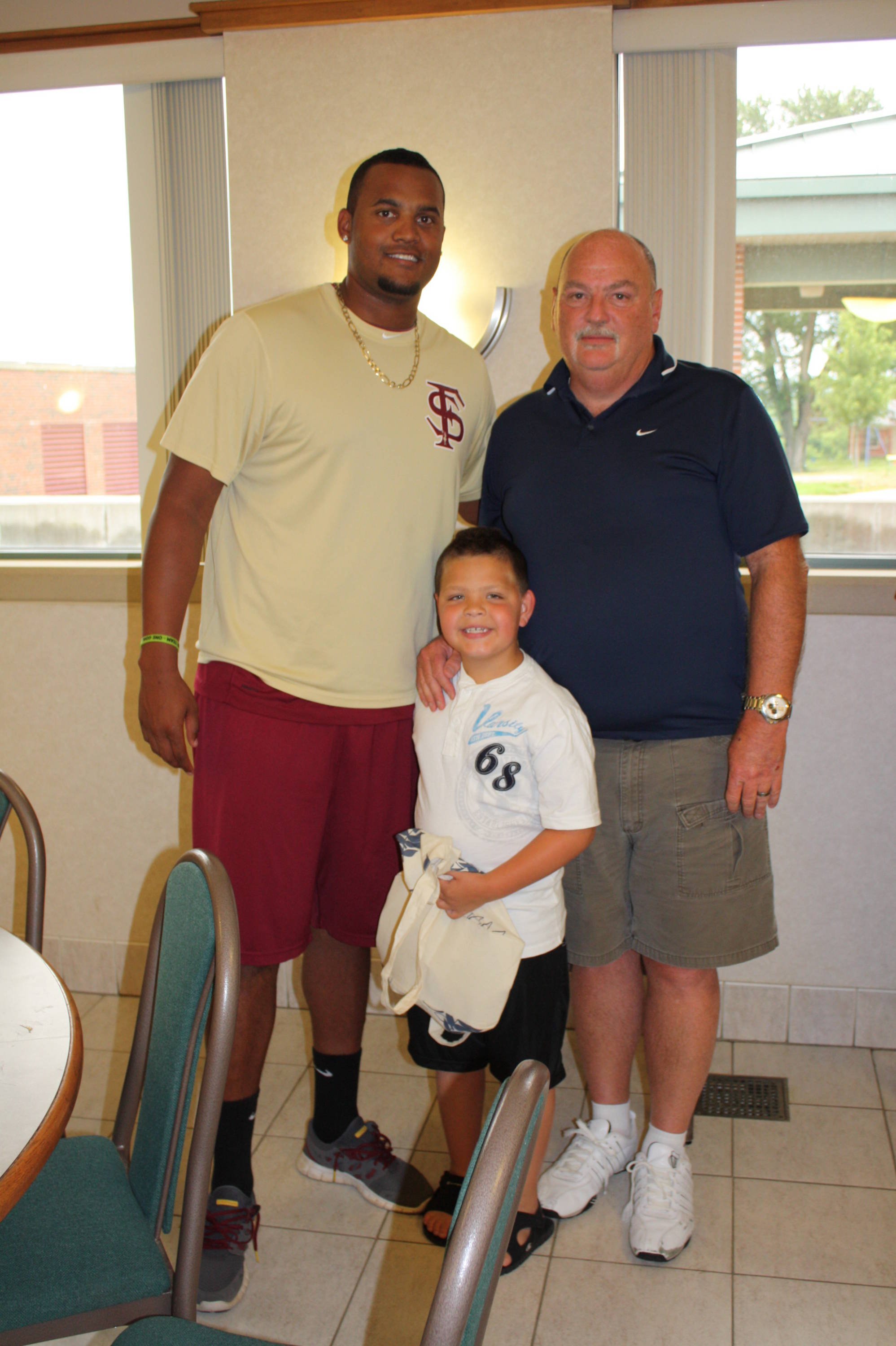 Florida State Baseball visits the Omaha Home for Boys on Saturday, June 16.