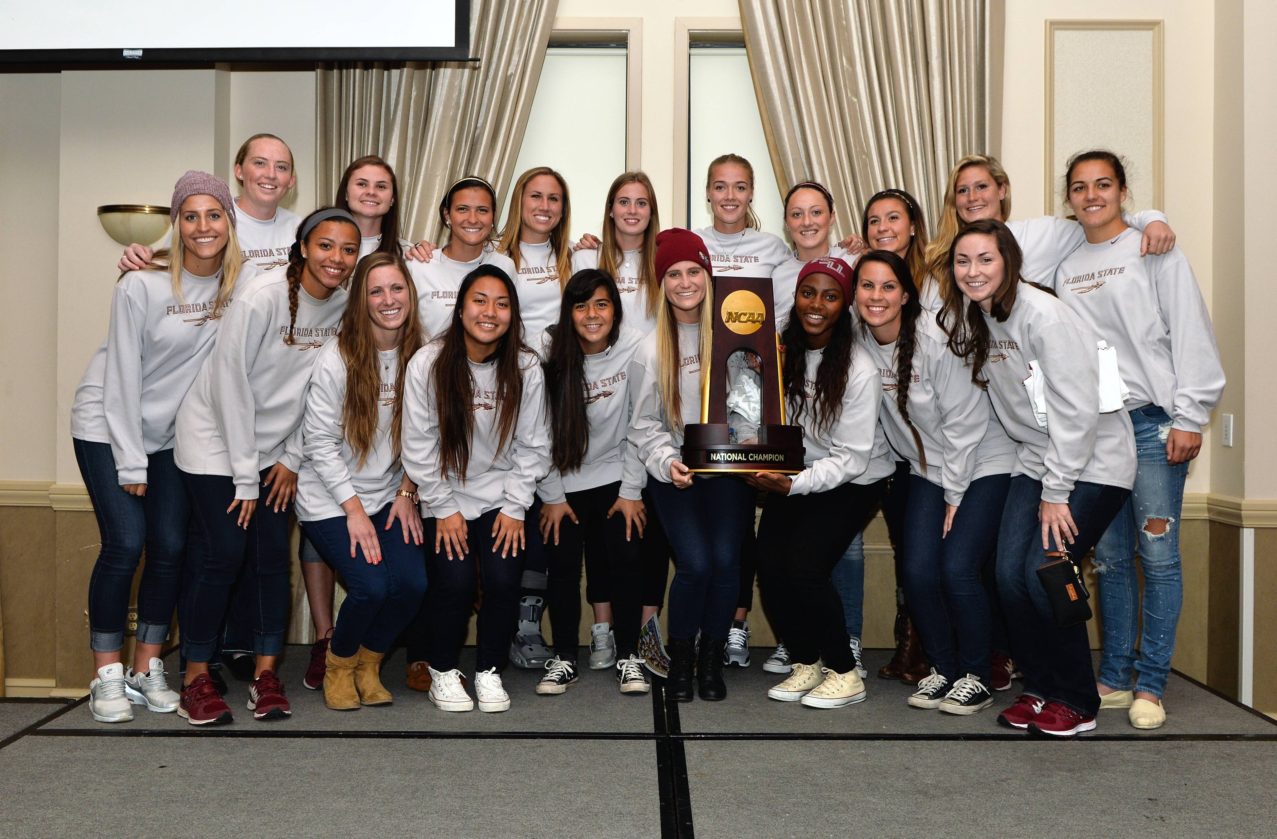 Soccer National Championship Celebration