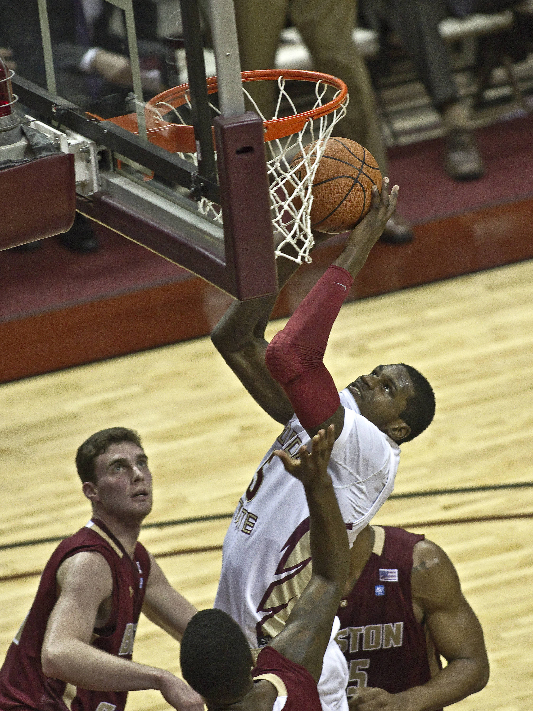 FSU vs Boston College - 01/22/11- Bernard James (5)